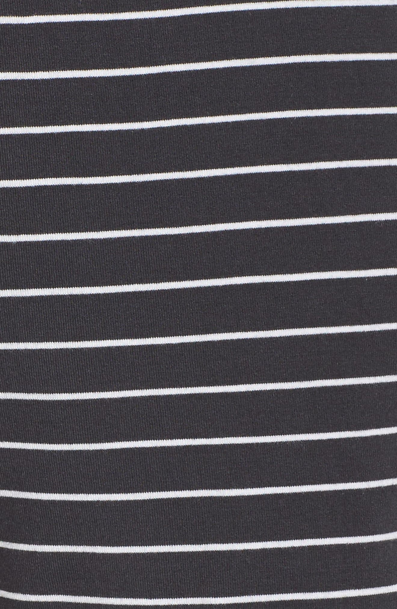 Stripe Jersey Shorts,                             Alternate thumbnail 5, color,                             030