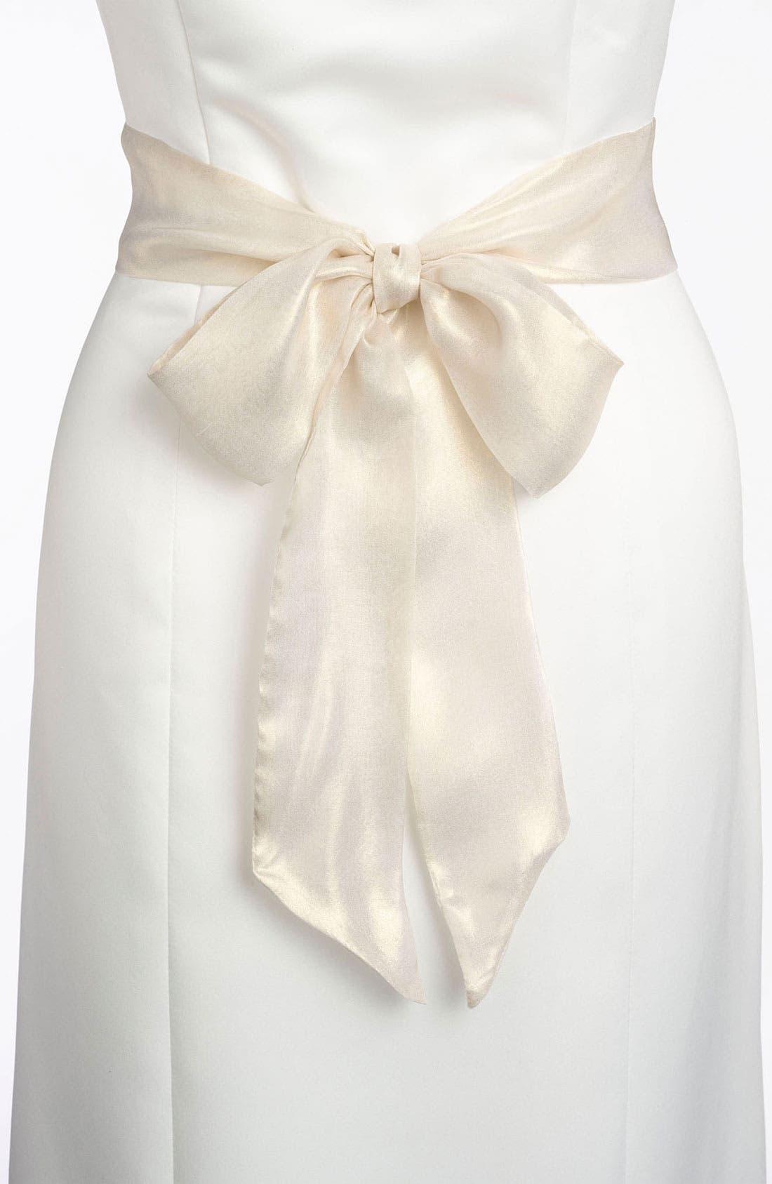 Silk Charmeuse Medium Sash,                             Alternate thumbnail 72, color,