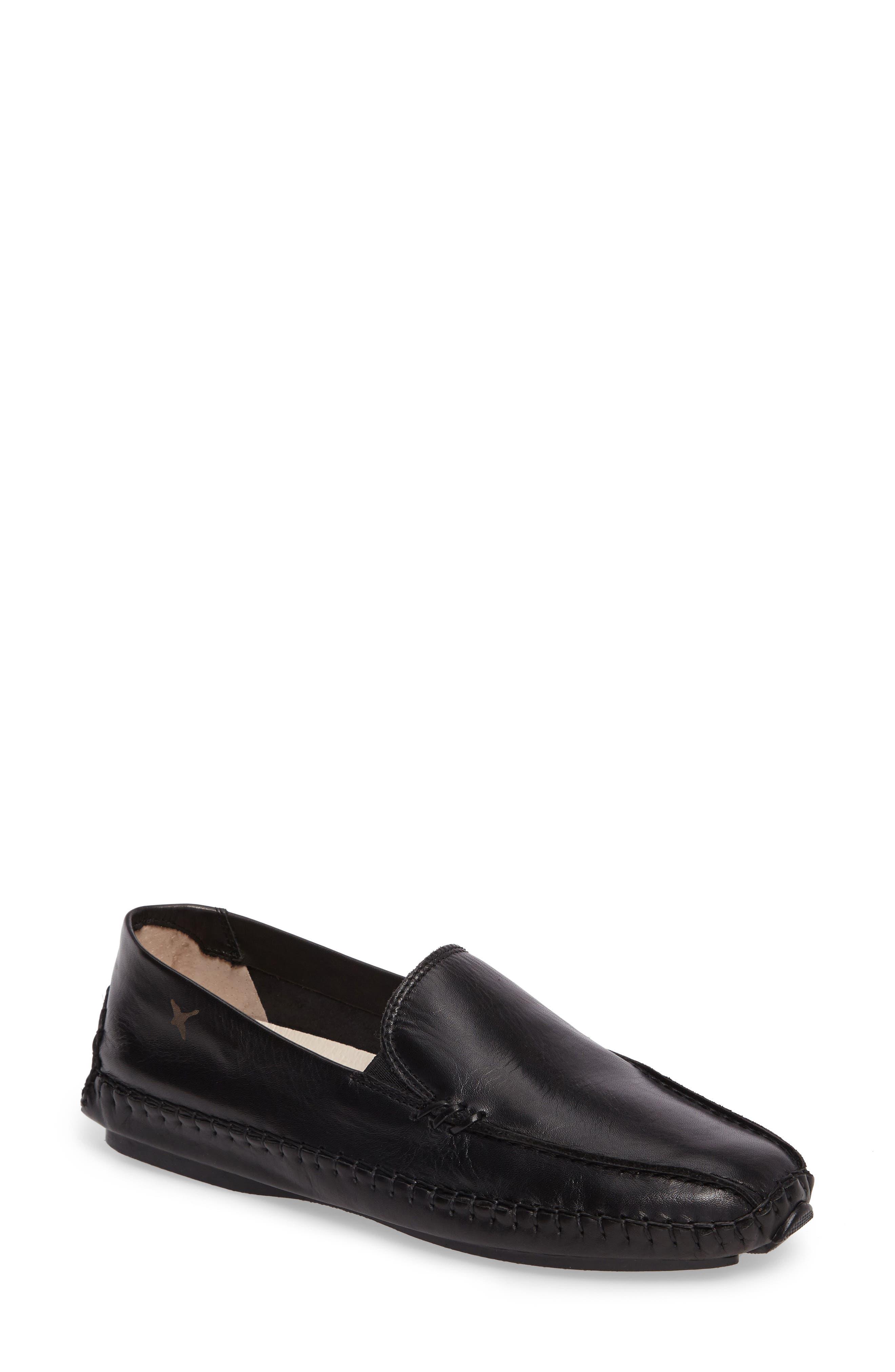 Jerez Loafer,                         Main,                         color, BLACK LEATHER