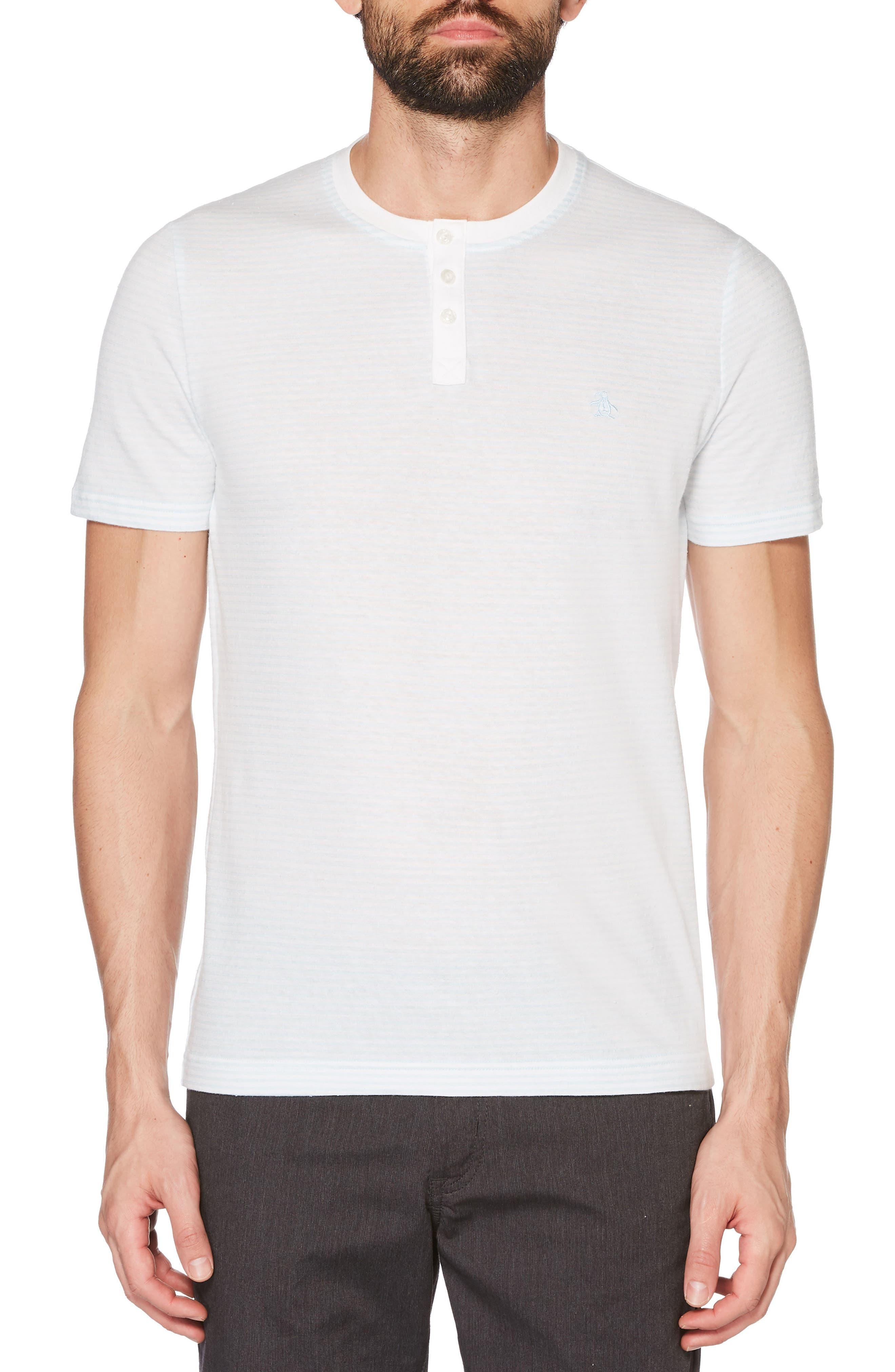 Nep Stripe Henley,                         Main,                         color, BRIGHT WHITE