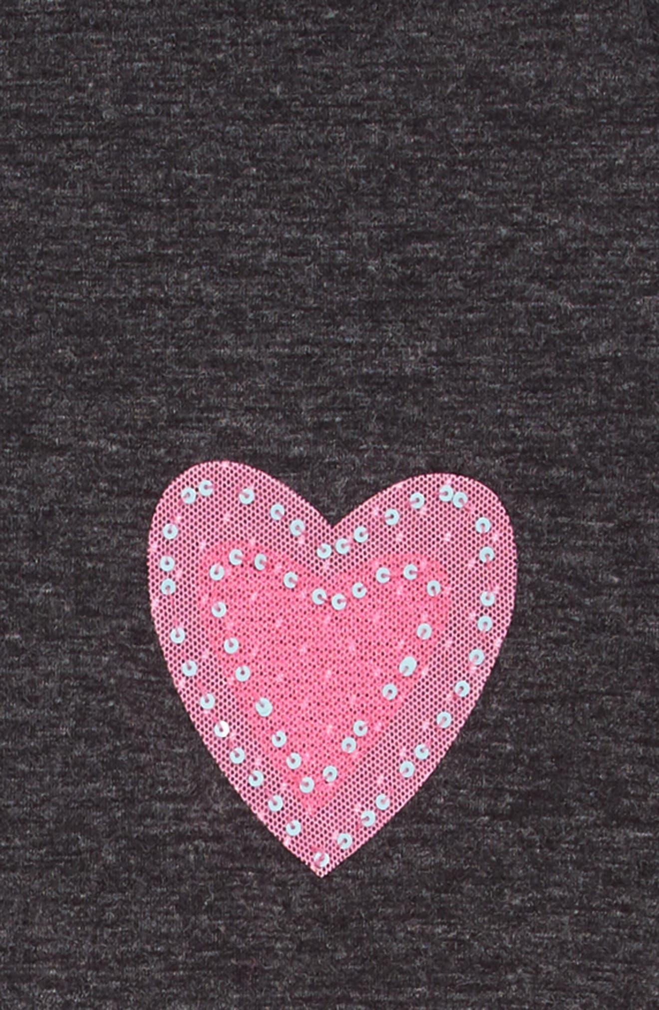 TRULY ME,                             Love Dress Set,                             Alternate thumbnail 4, color,                             GREY PINK