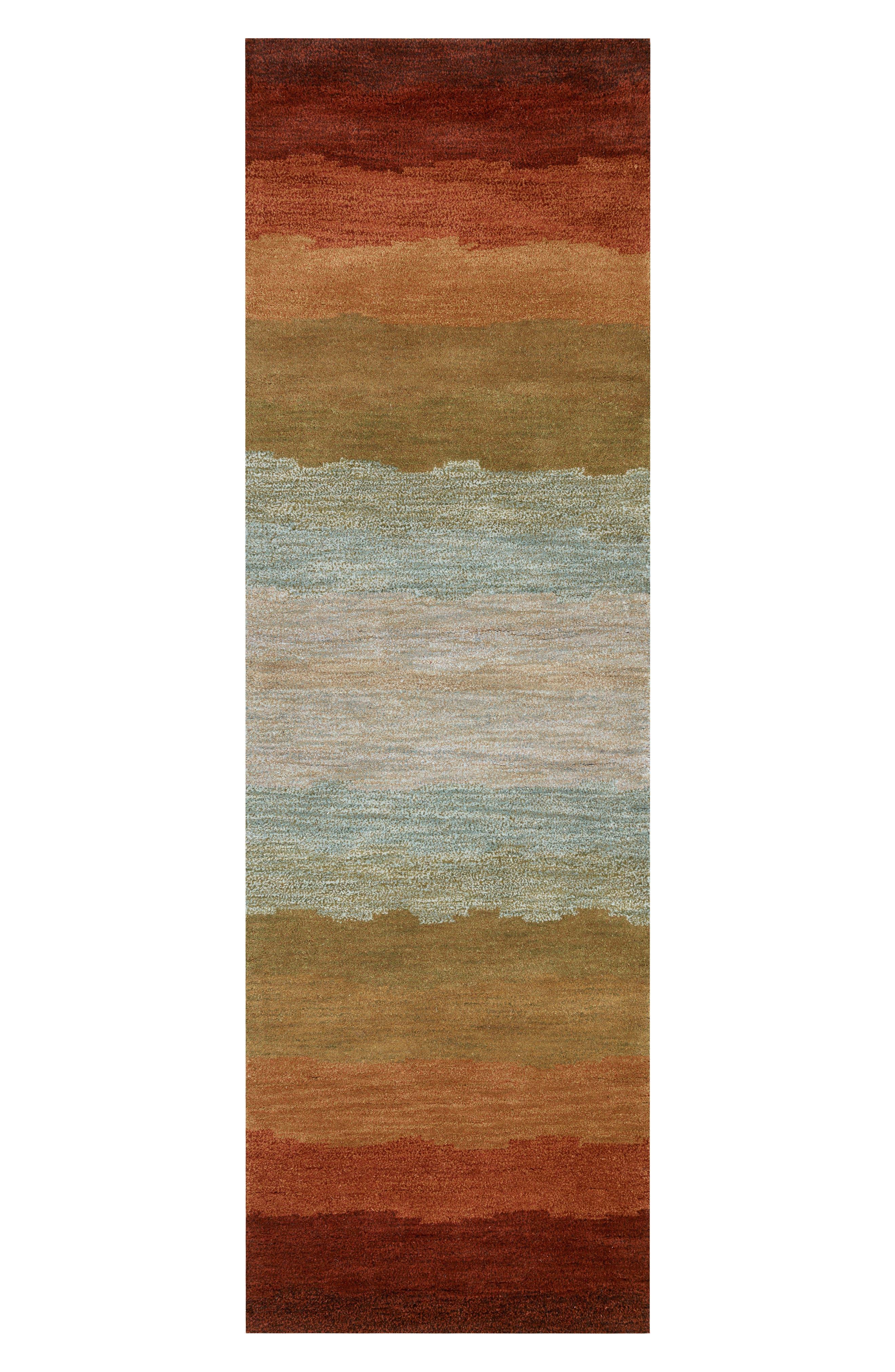 Desert Oasis Hand Tufted Wool Area Rug,                             Alternate thumbnail 6, color,                             220