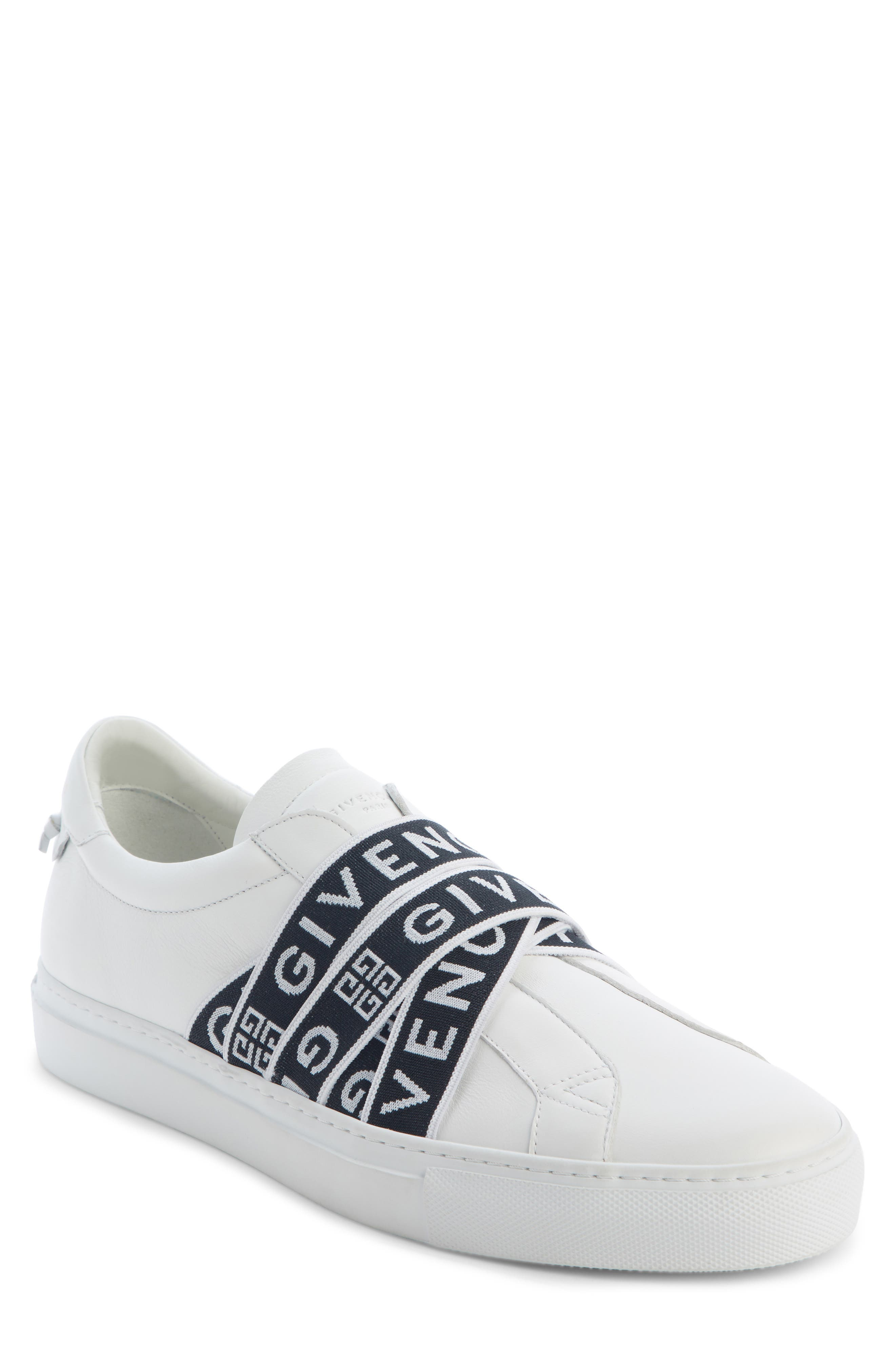 Urban Street Slip-On, Main, color, WHITE/ BLACK