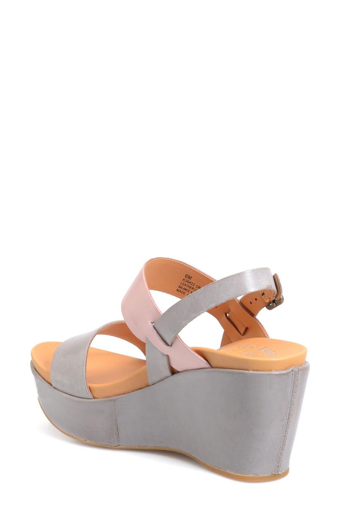 'Austin' Slingback Wedge Sandal,                             Alternate thumbnail 14, color,