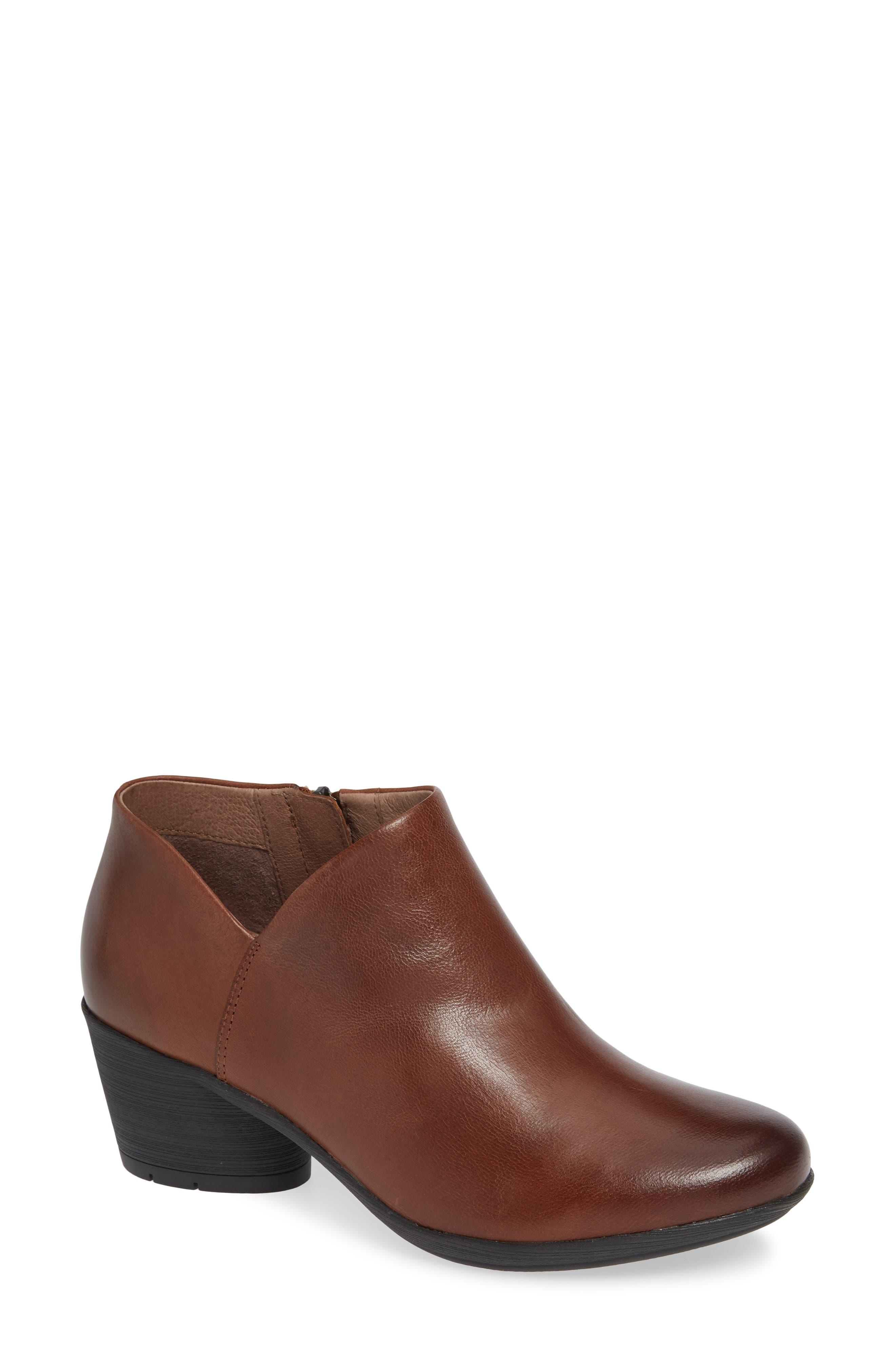 Raina Boot,                         Main,                         color, CHESTNUT NUBUCK