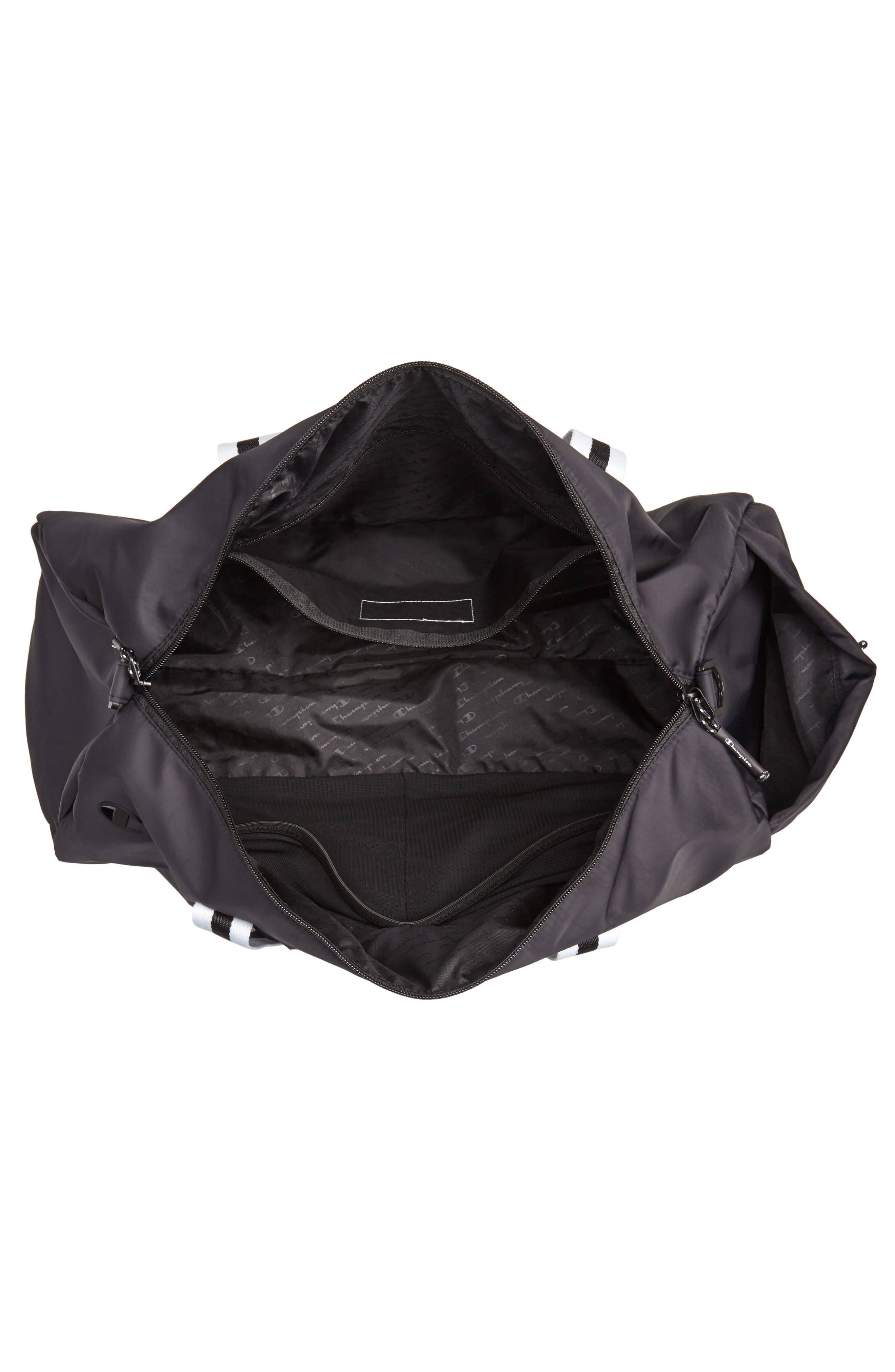 Free Form Duffel Bag,                             Alternate thumbnail 4, color,                             BLACK