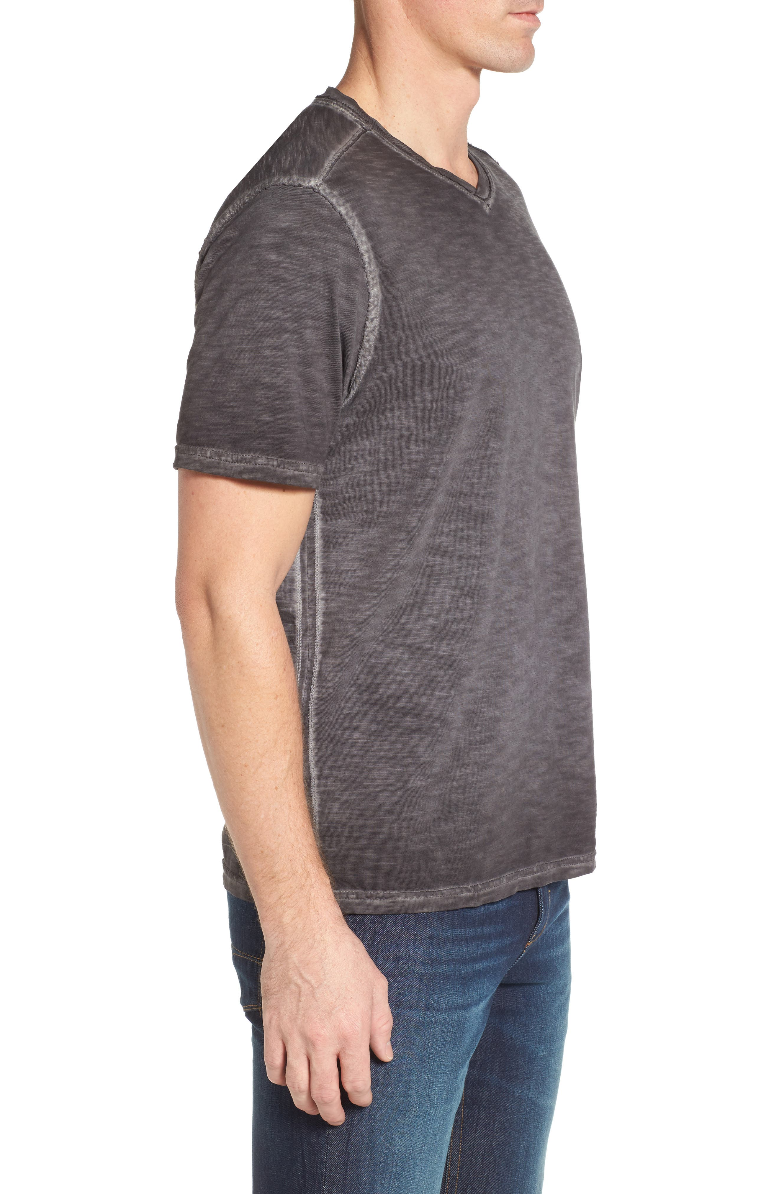 Suncoast Shores V-Neck T-Shirt,                             Alternate thumbnail 3, color,                             001