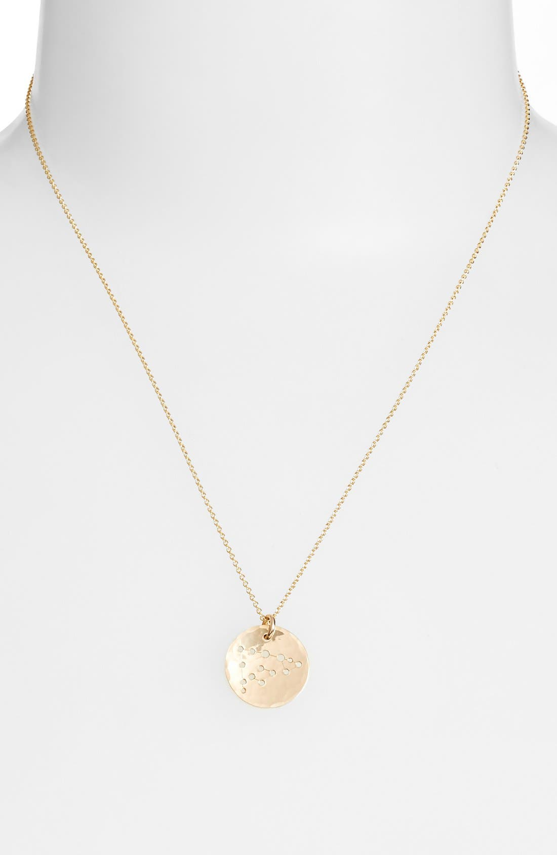 Ija 'Small Zodiac' 14k-Gold Fill Necklace,                             Alternate thumbnail 23, color,