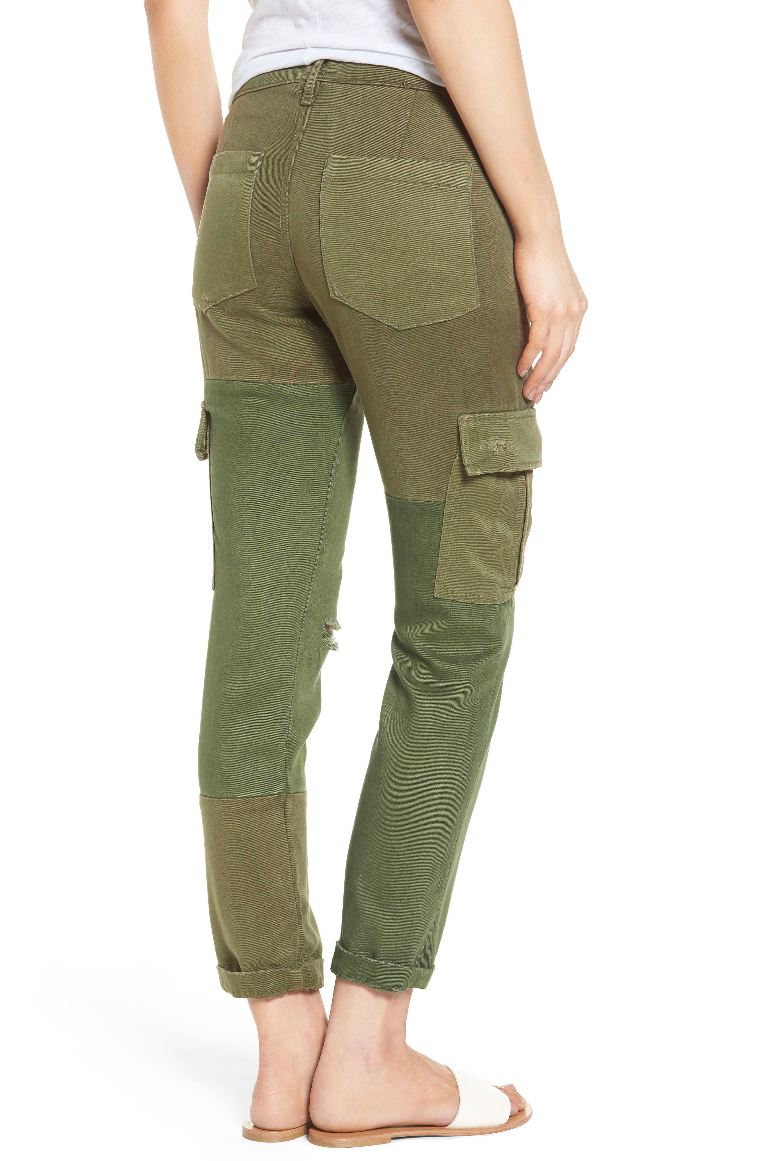 Riley Straight Leg Cargo Pants,                             Alternate thumbnail 2, color,                             340