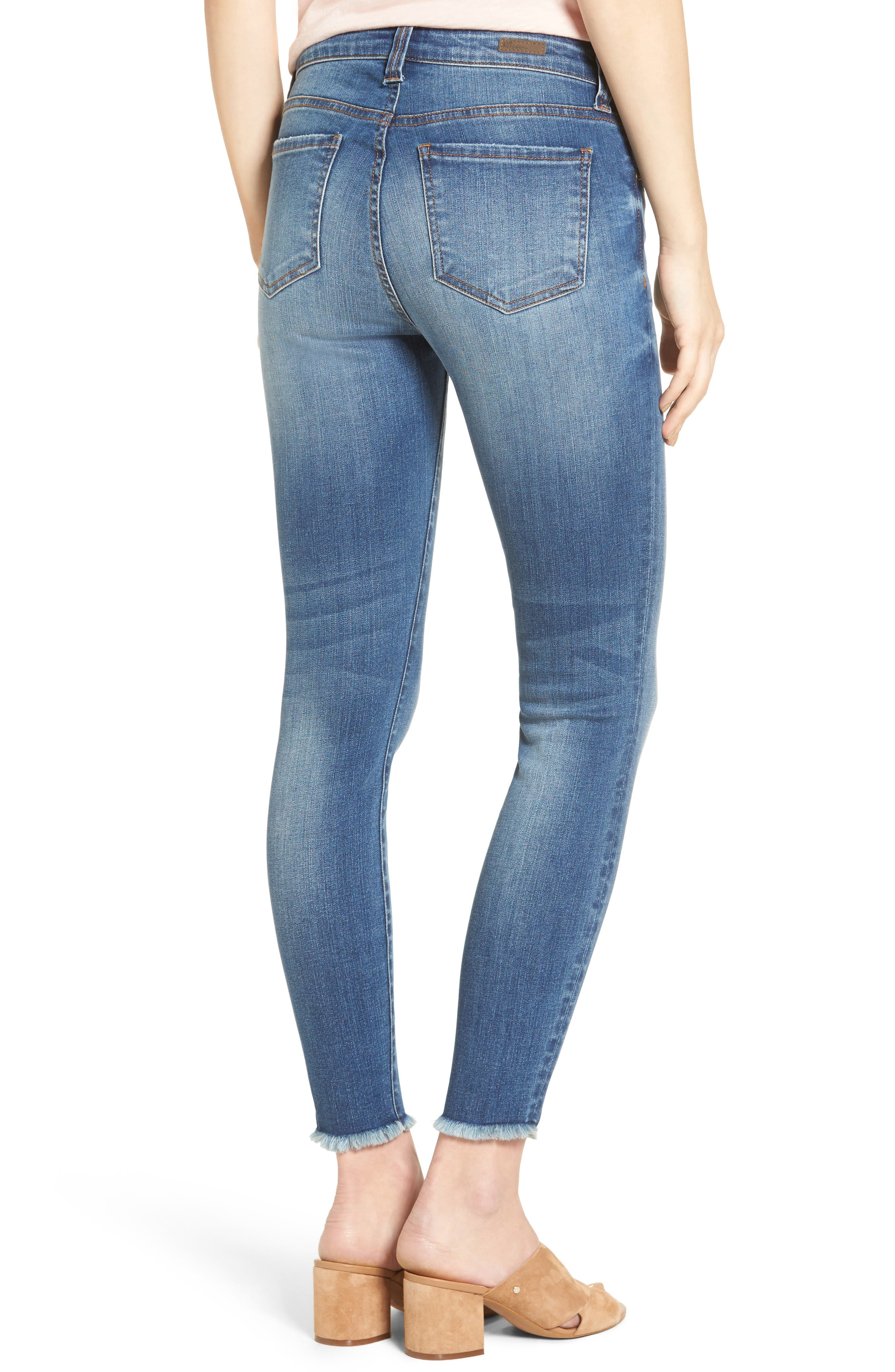 Connie Skinny Jeans,                             Alternate thumbnail 2, color,                             482