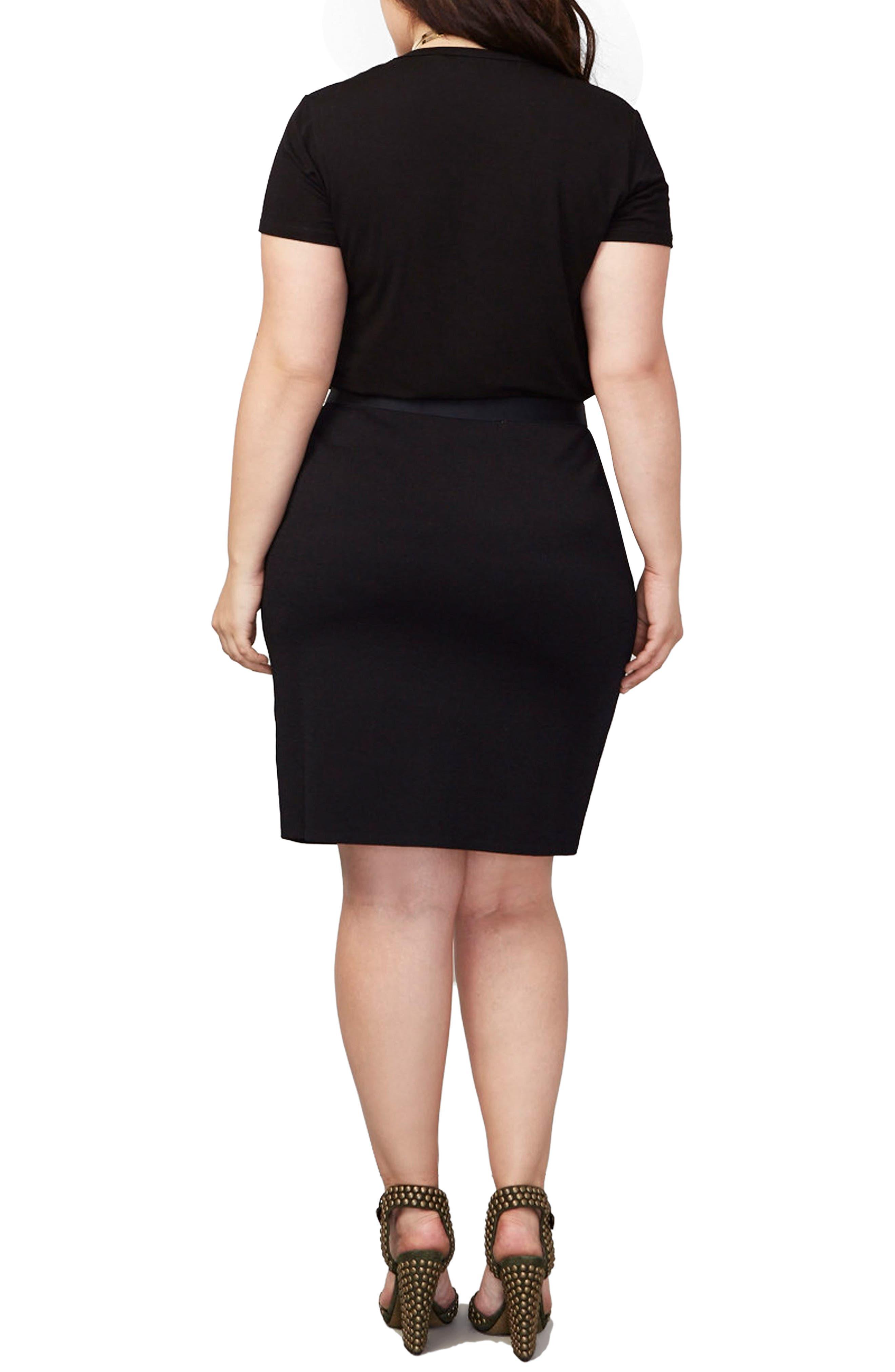 Parker Skirt,                             Alternate thumbnail 2, color,                             BLACK