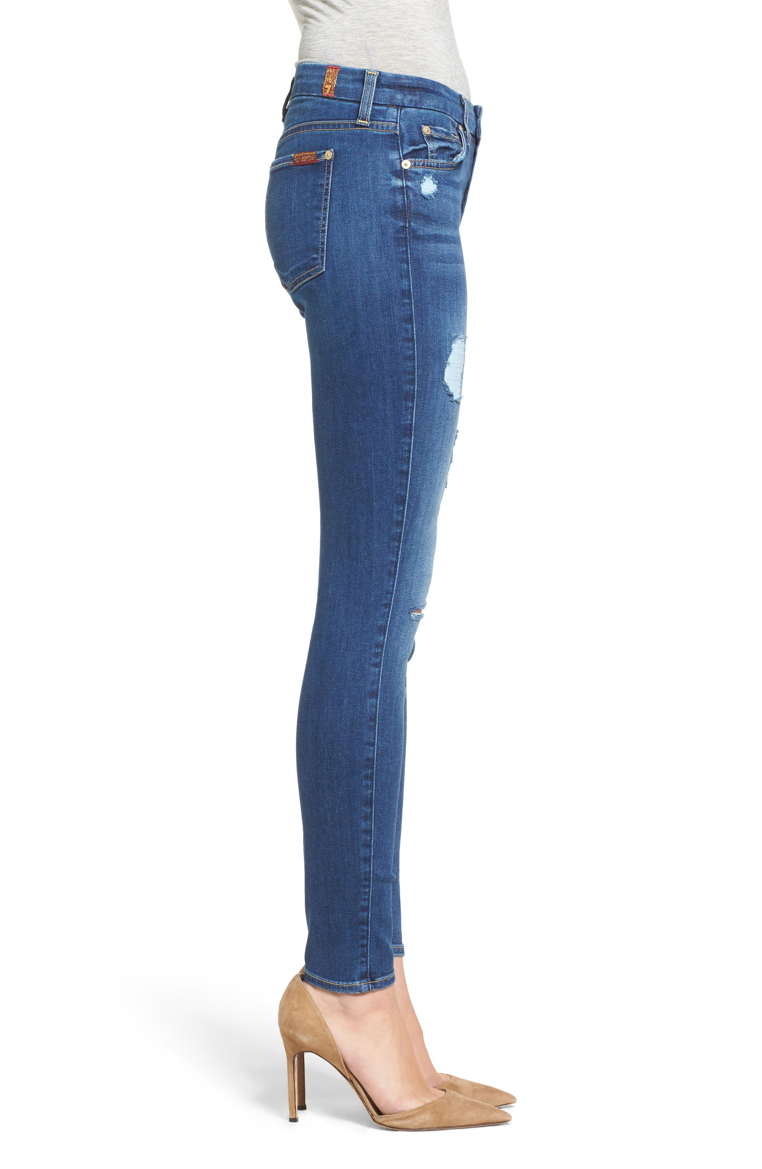 'b(air) - The Ankle' Skinny Jeans,                             Alternate thumbnail 21, color,