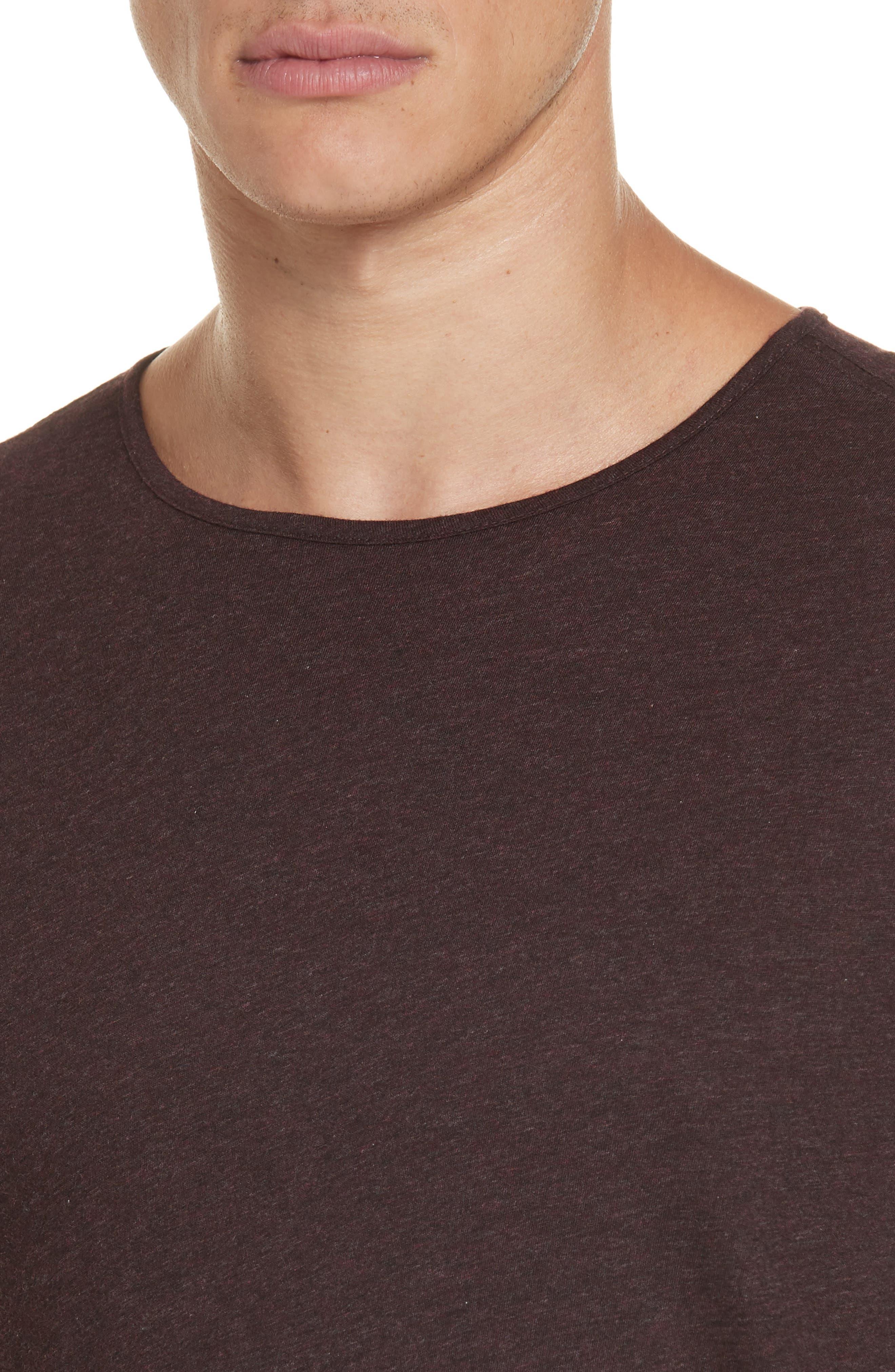 Long Sleeve T-Shirt,                             Alternate thumbnail 4, color,                             PORT