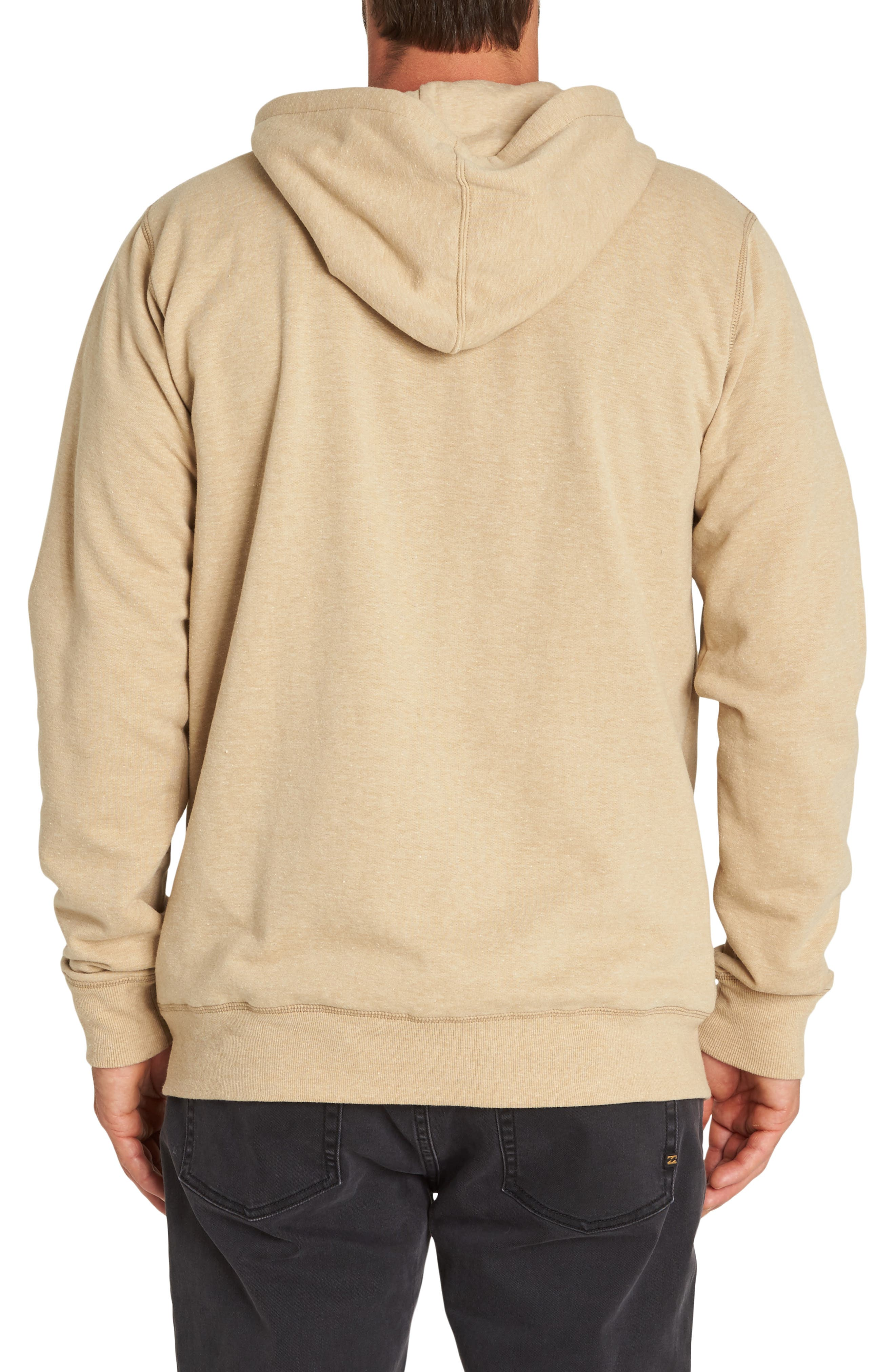 All Day Zip Hoodie,                             Alternate thumbnail 2, color,                             STRAW