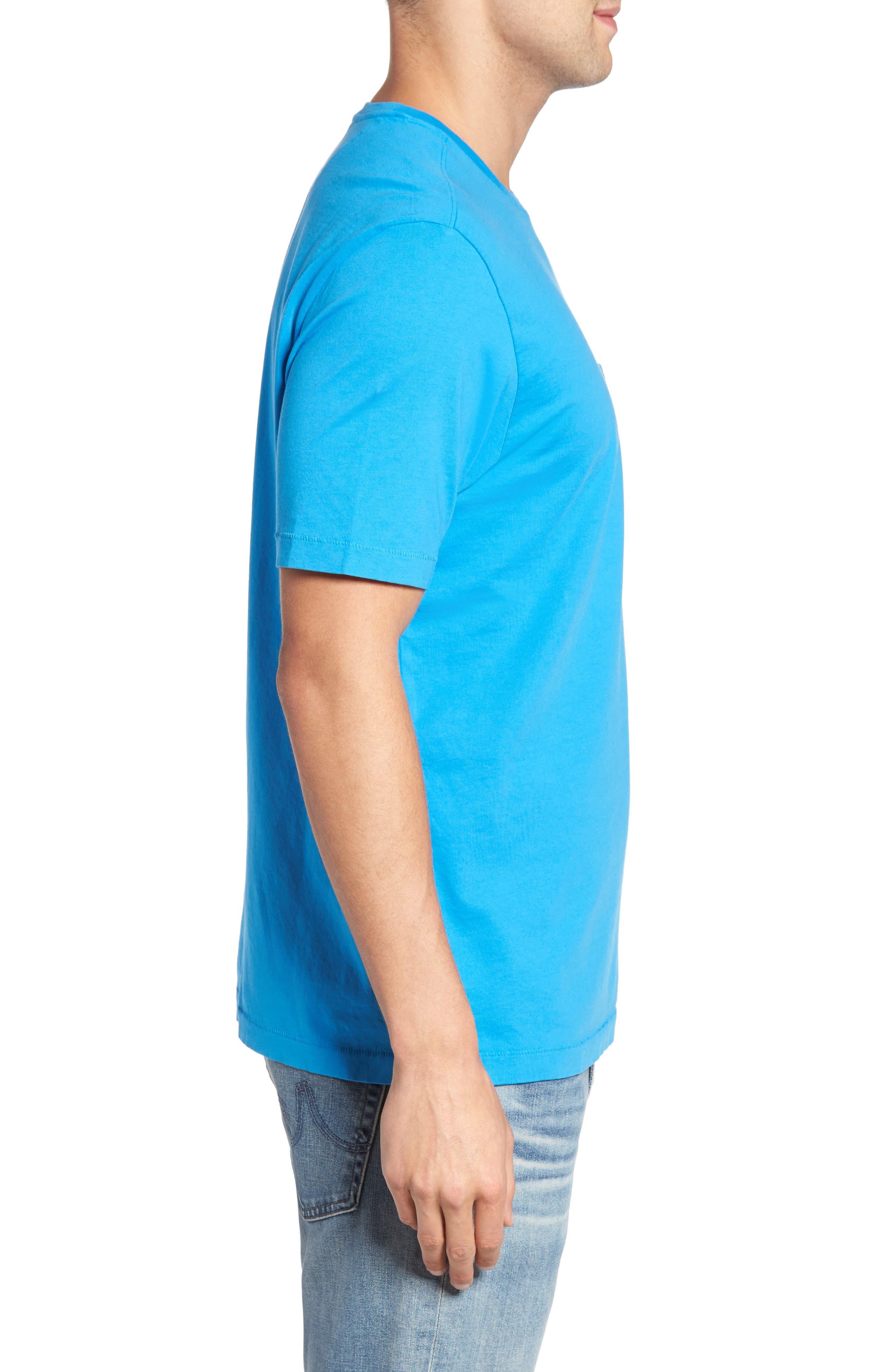 New Bali Sky Pima Cotton Pocket T-Shirt,                             Alternate thumbnail 95, color,
