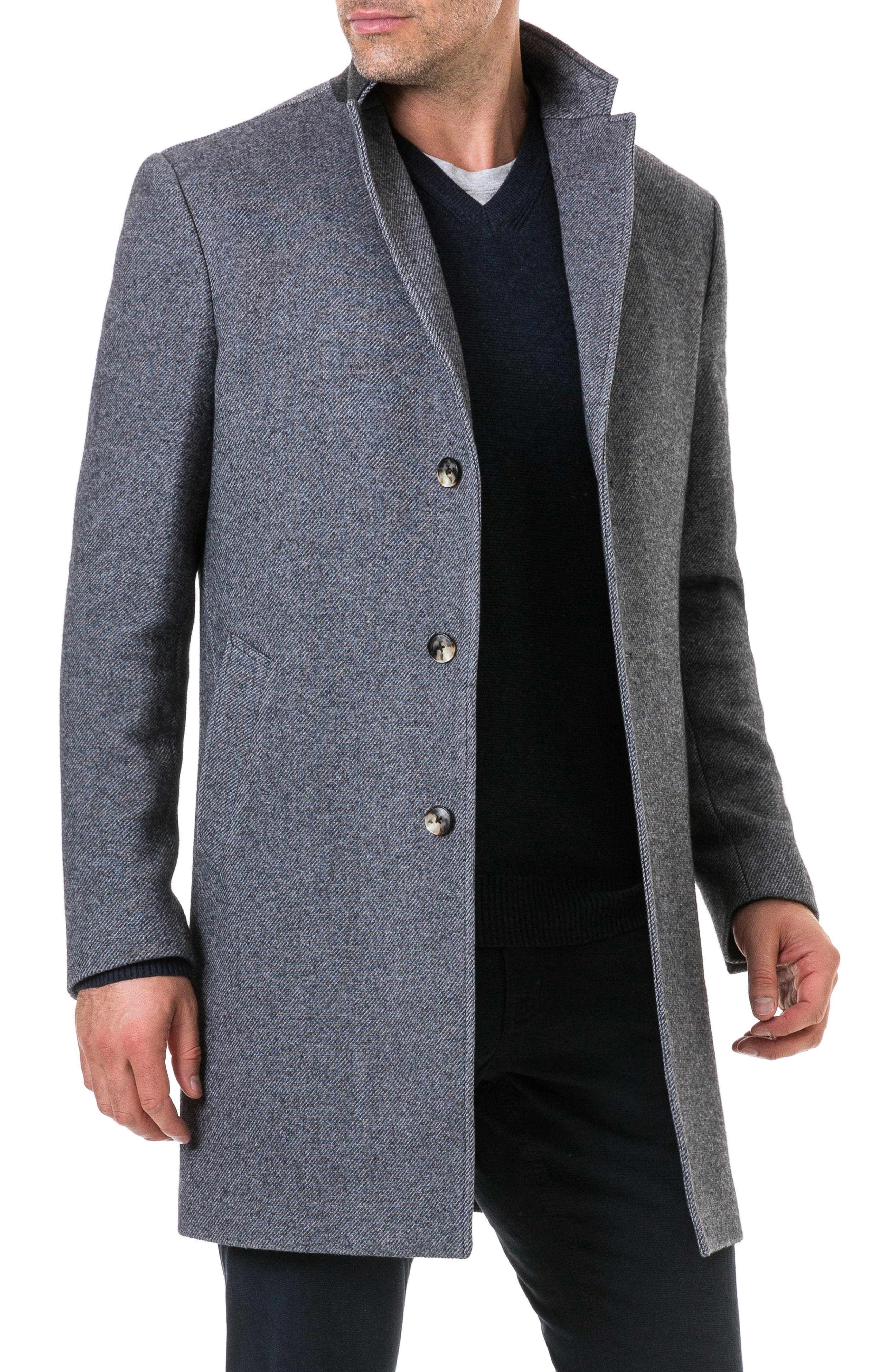 Calton Hill Wool Blend Coat,                             Alternate thumbnail 6, color,                             020