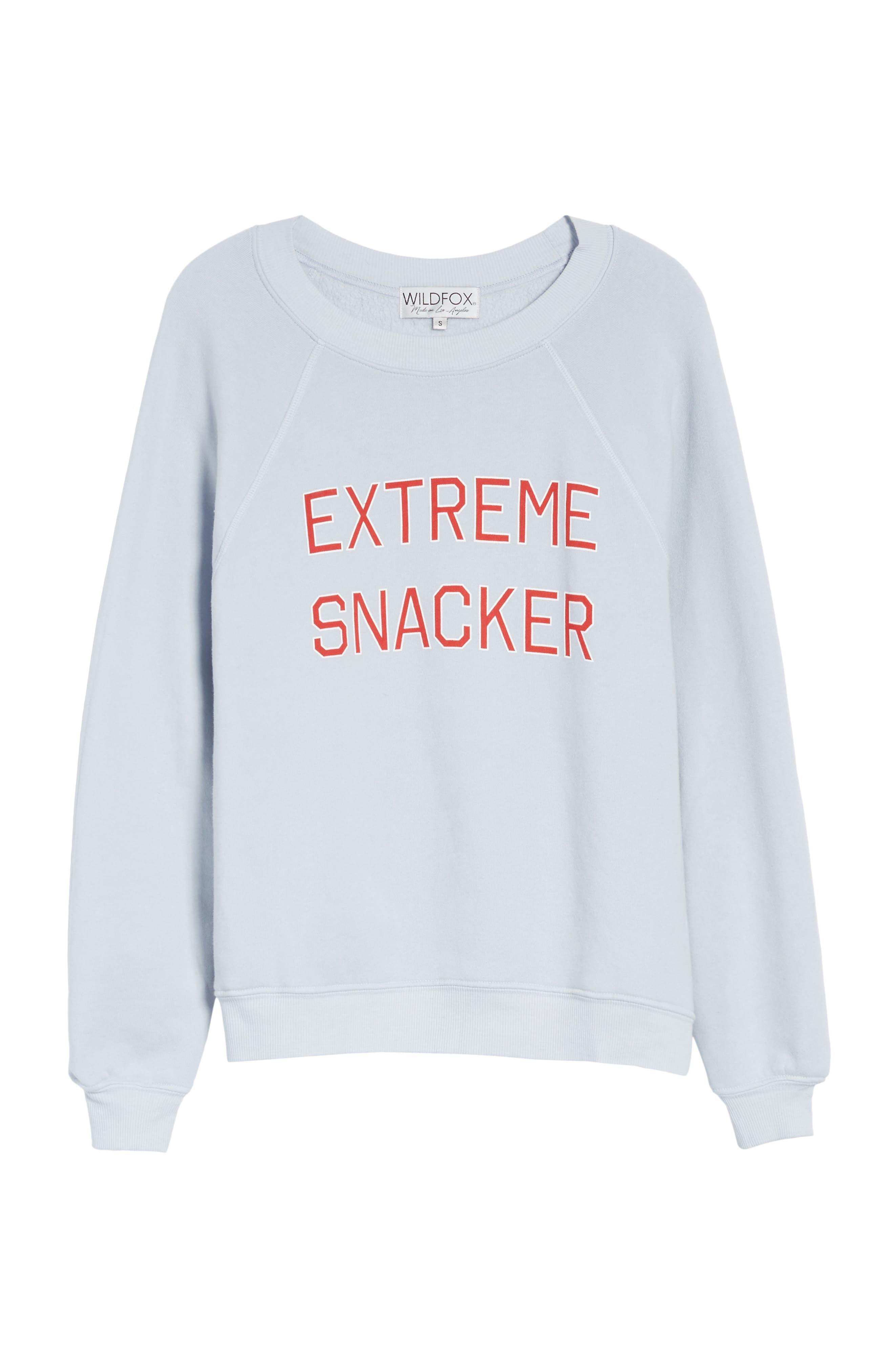 Extreme Snacker Sweatshirt,                             Alternate thumbnail 6, color,