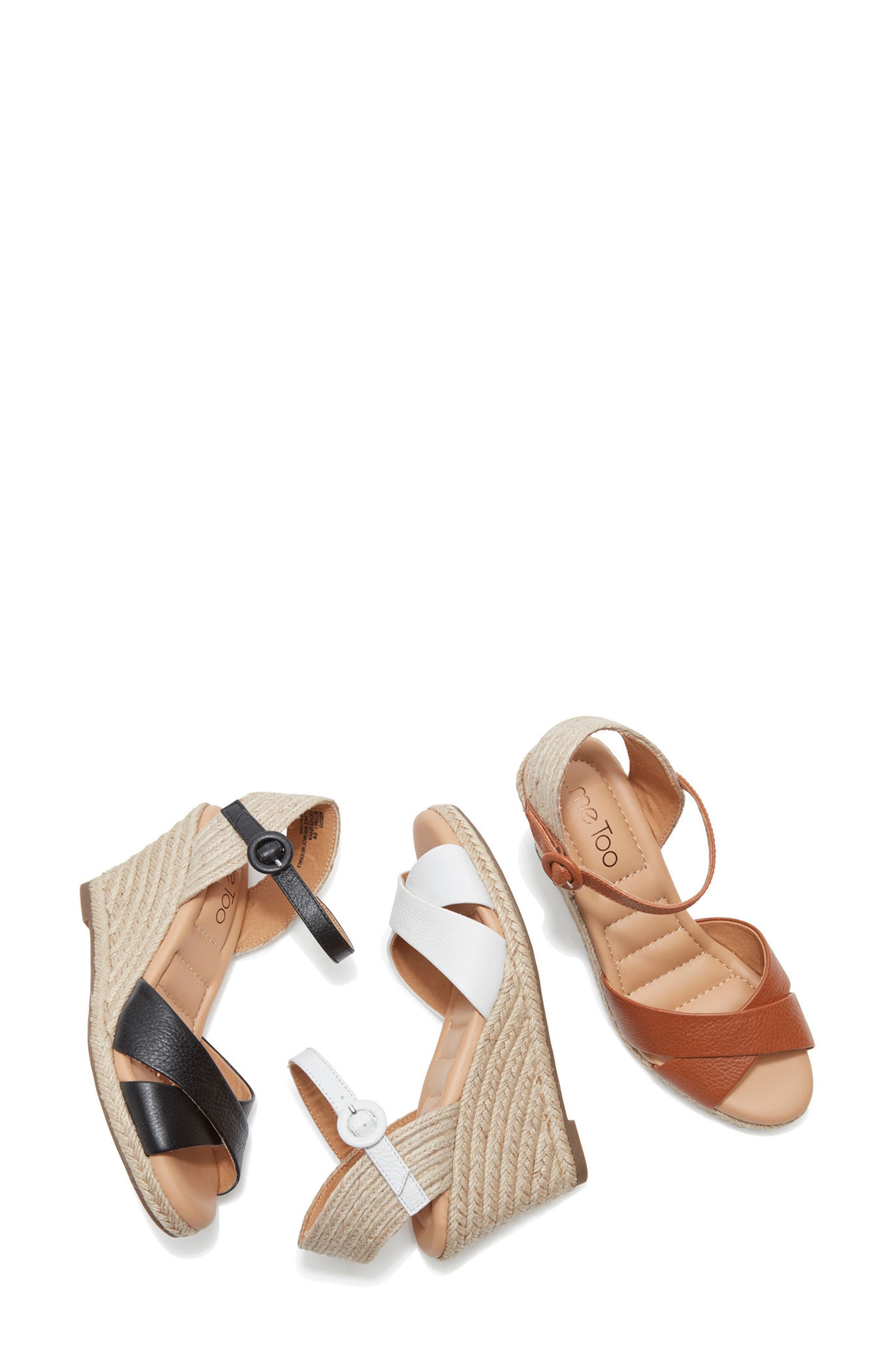 Bettina Espadrille Wedge Sandal,                             Alternate thumbnail 8, color,                             010