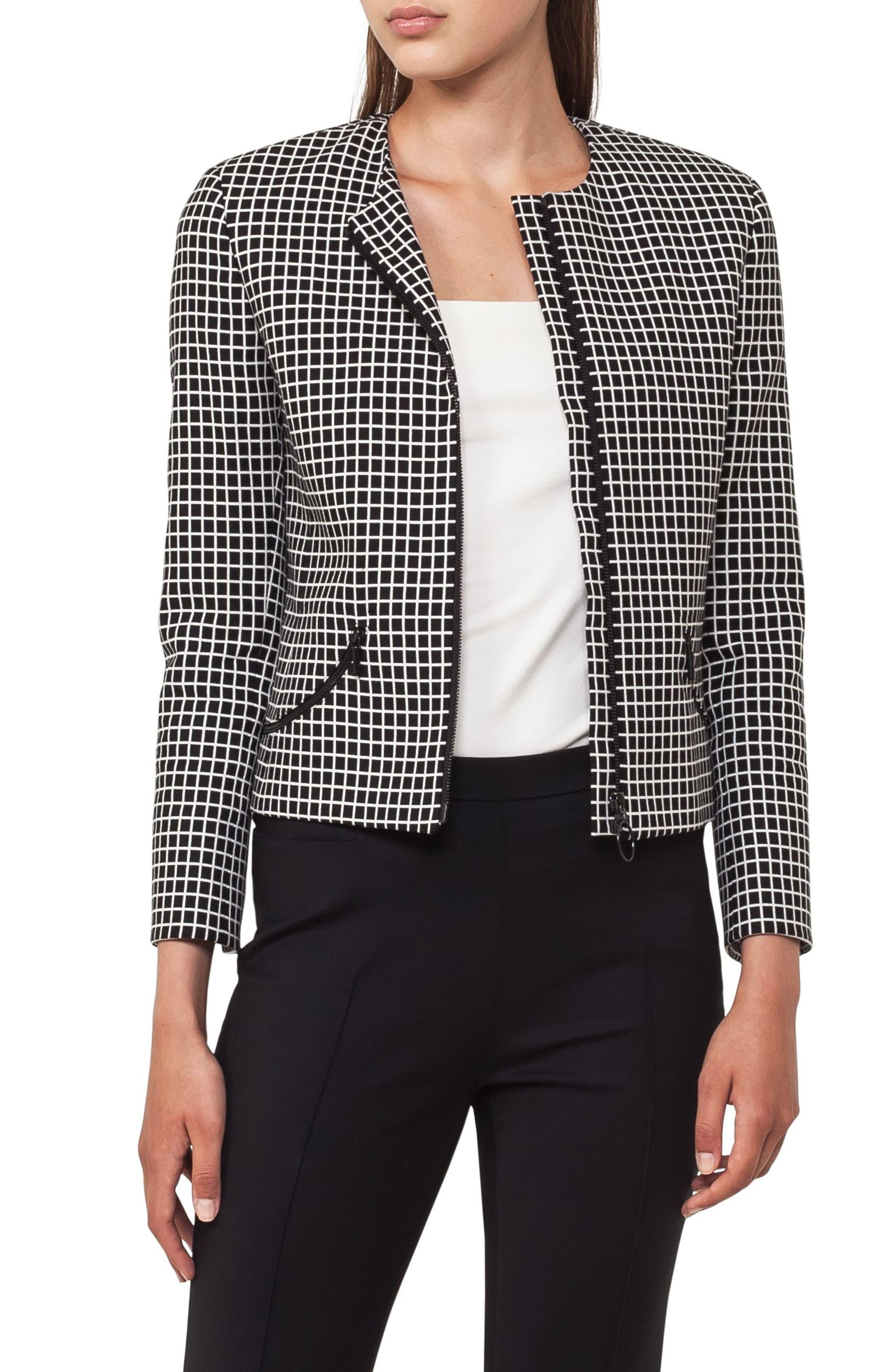 Quadrant Circle Short Jacket,                         Main,                         color, 960