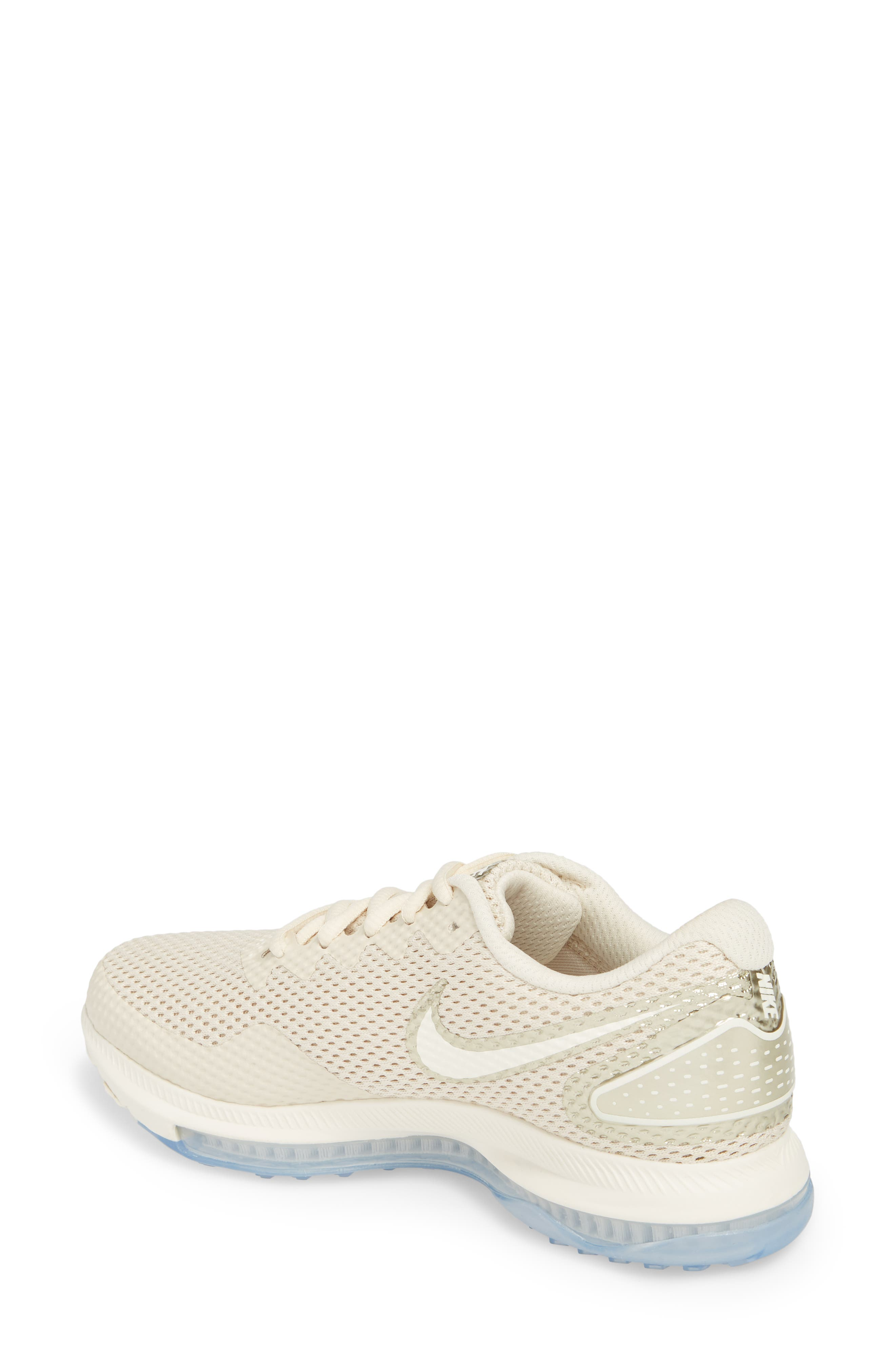 Zoom All Out Low 2 Running Shoe,                             Alternate thumbnail 2, color,                             LIGHT CREAM/ SAIL
