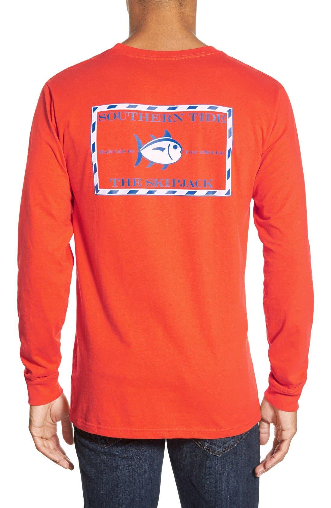 'Skipjack'Long Sleeve Graphic T-Shirt,                             Main thumbnail 11, color,