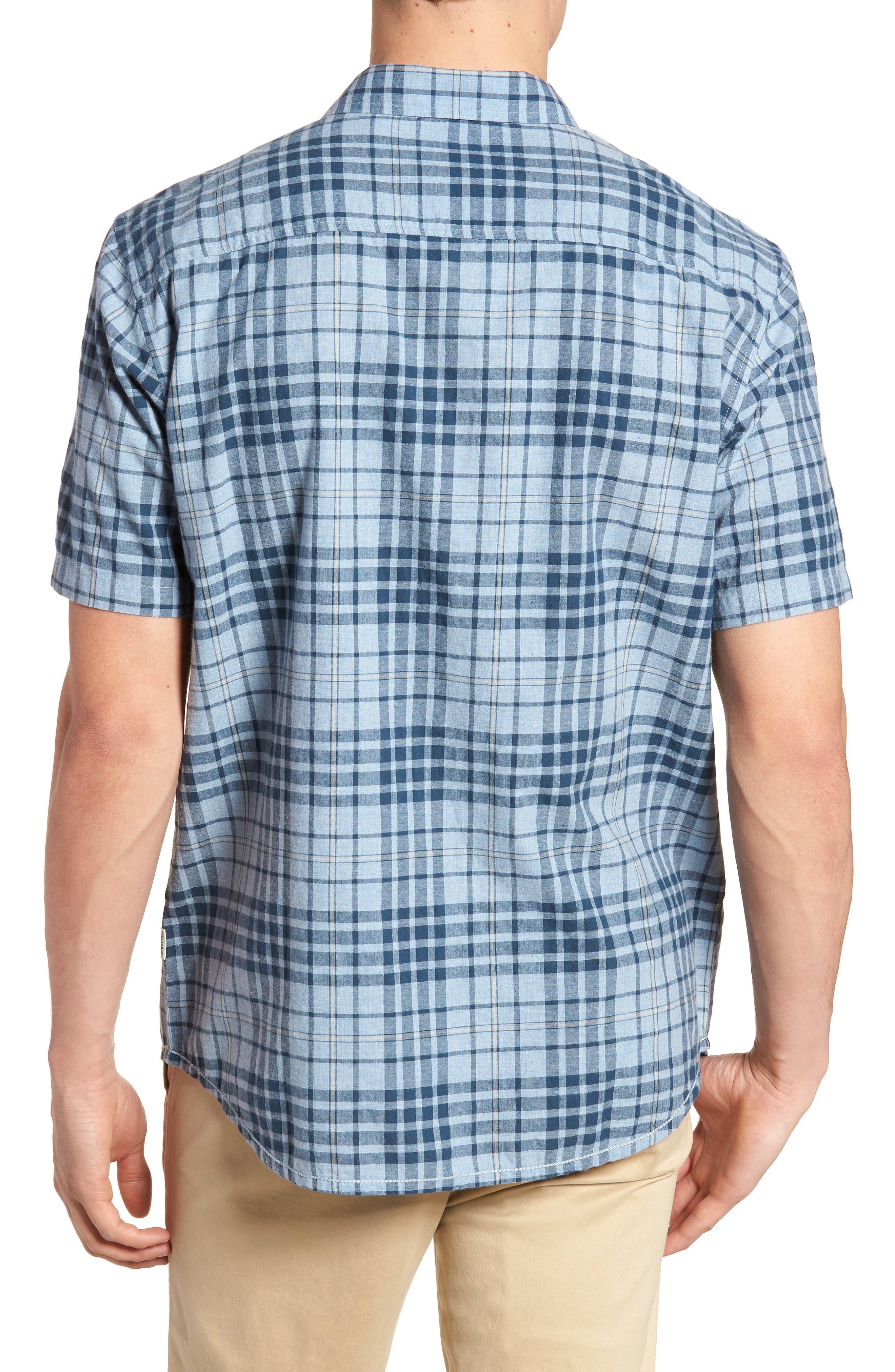 Rhodes Check Sport Shirt,                             Alternate thumbnail 4, color,