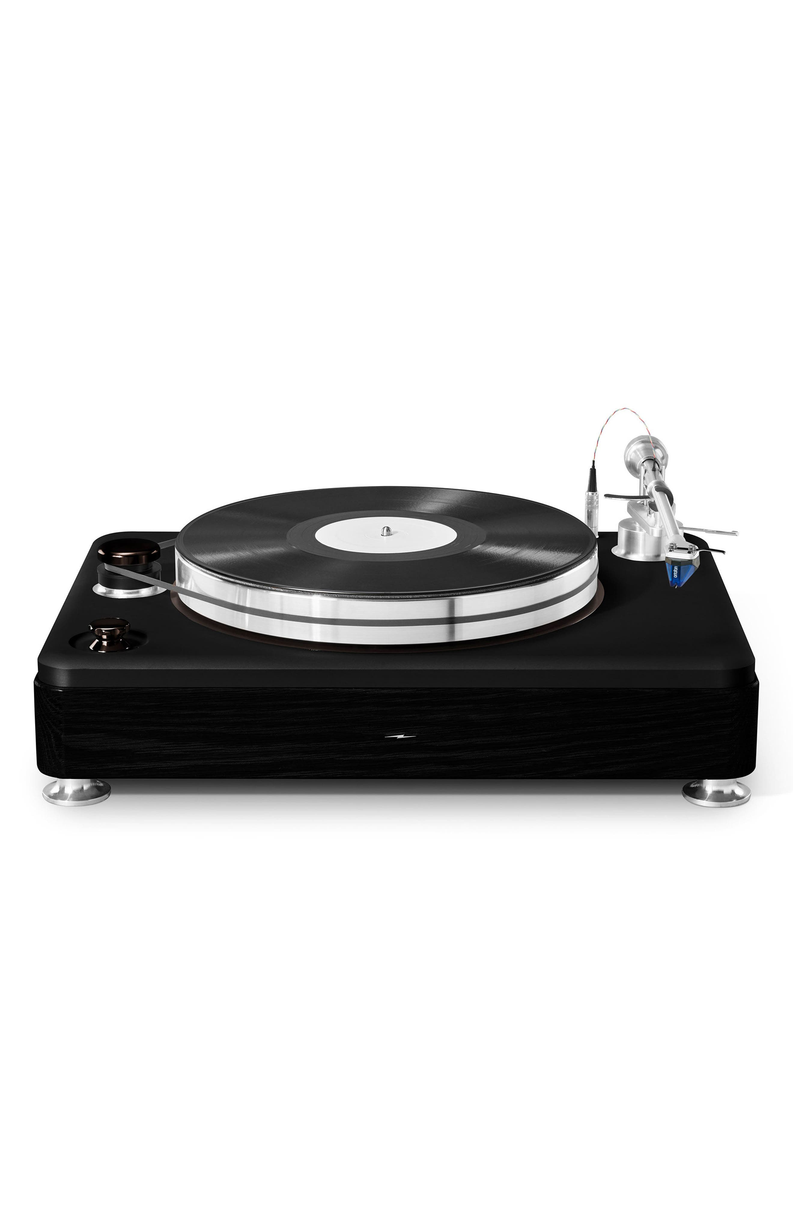 The Runwell Turntable,                             Main thumbnail 1, color,                             BLACK/ SILVER