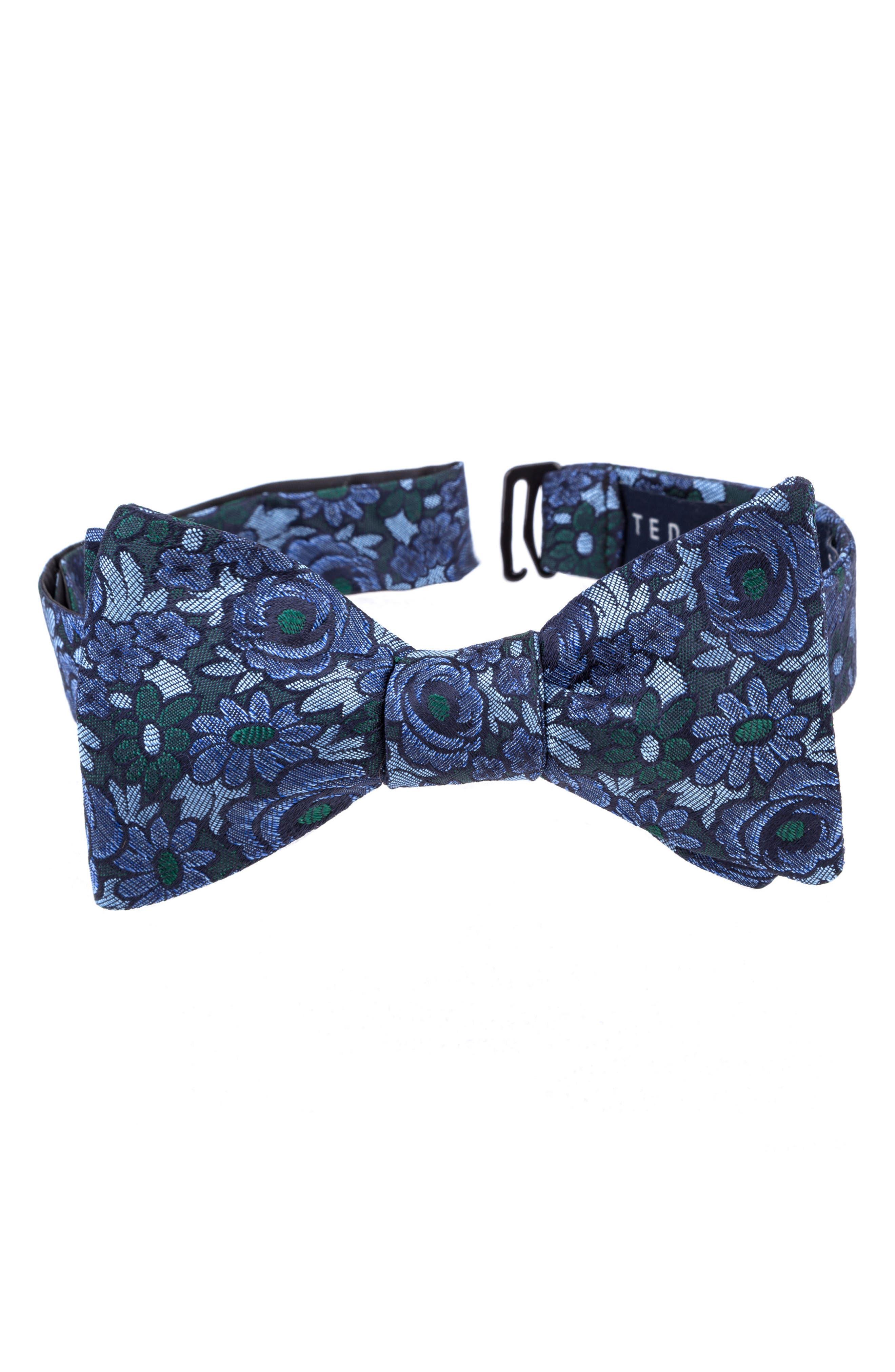 Botanical Silk Bow Tie,                         Main,                         color,