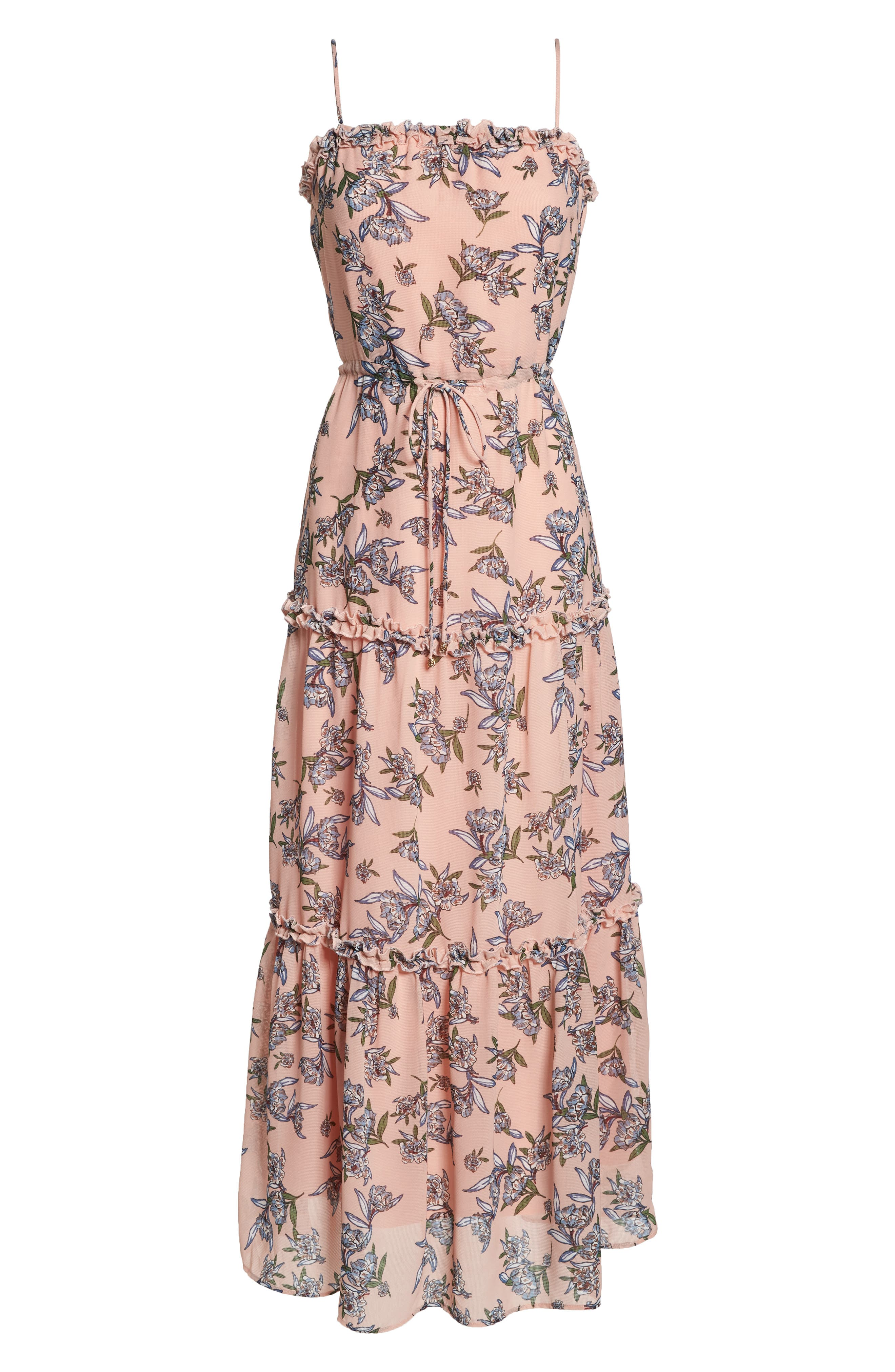 Sofi Maxi Dress,                             Alternate thumbnail 7, color,