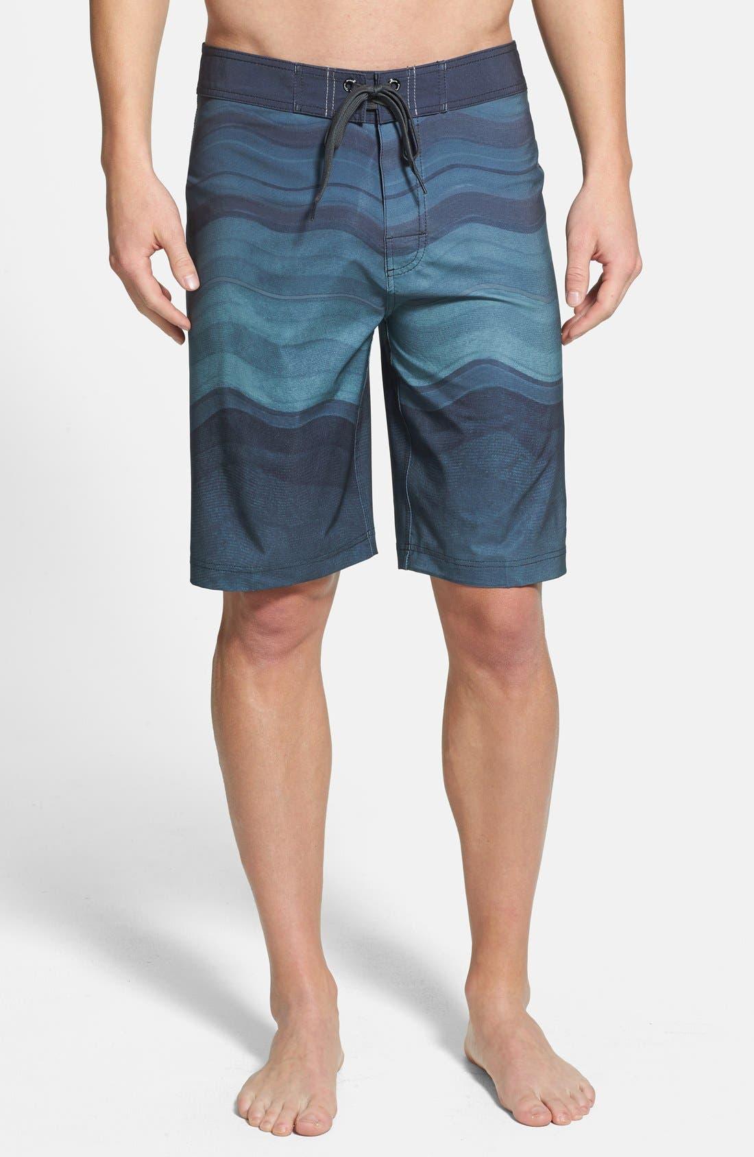 'Sediment' Stretch Board Shorts,                             Main thumbnail 7, color,