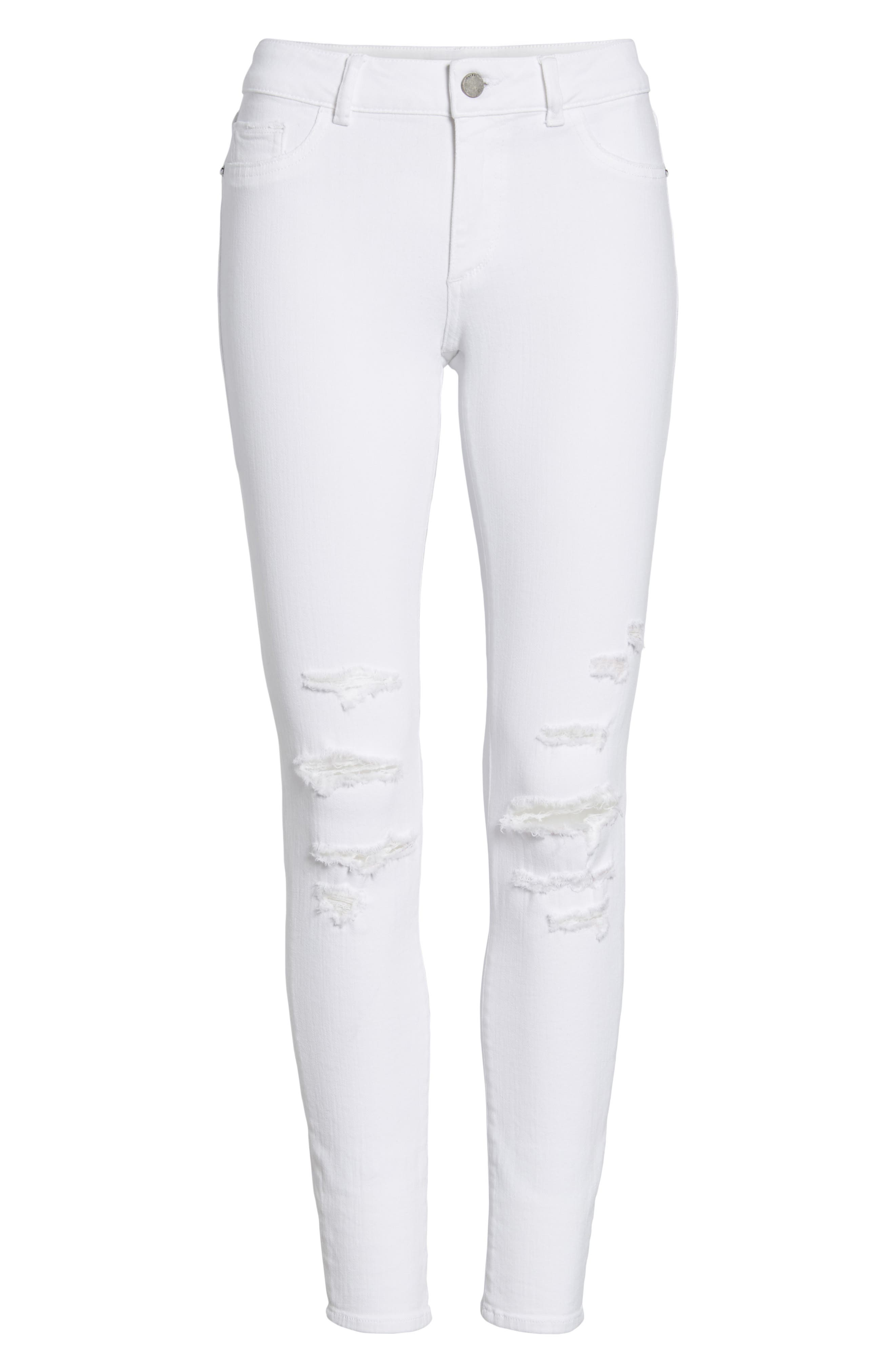 Emma Power Legging Jeans,                             Alternate thumbnail 7, color,                             100
