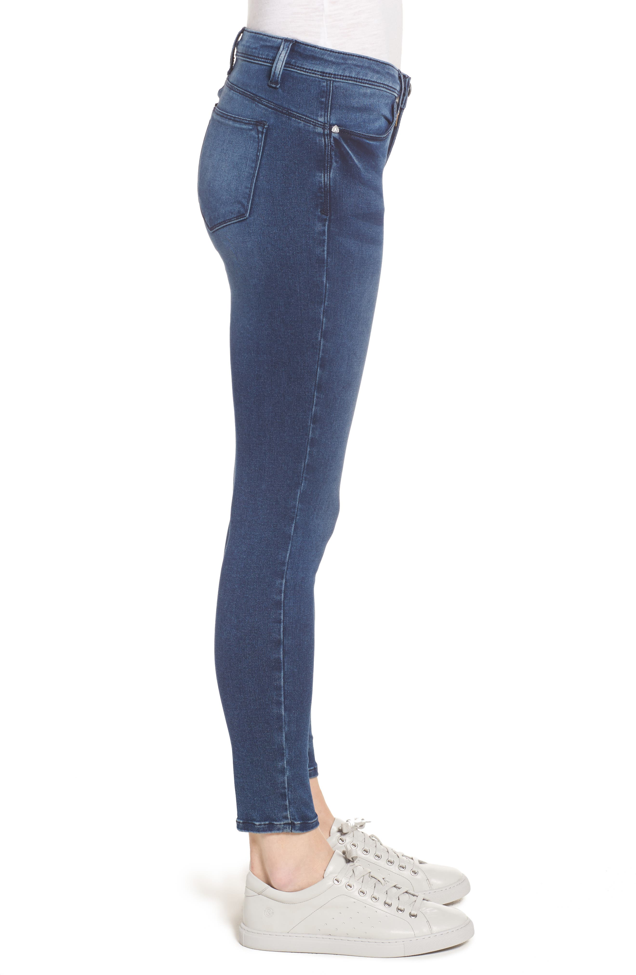 Jennifer Ultra Skinny Jeans,                             Alternate thumbnail 3, color,                             420