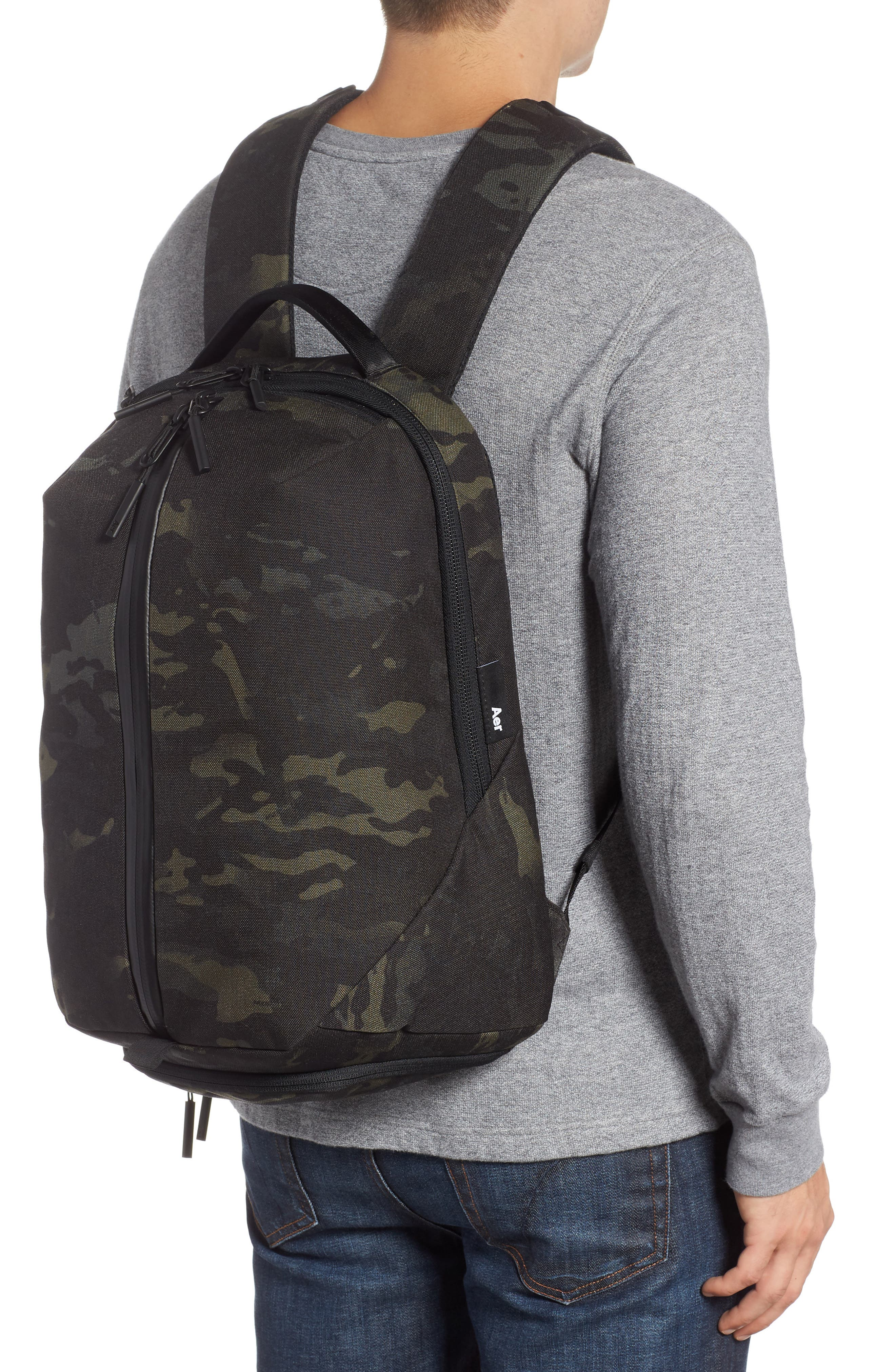 Fit Pack 2 Backpack,                             Alternate thumbnail 2, color,                             BLACK CAMO