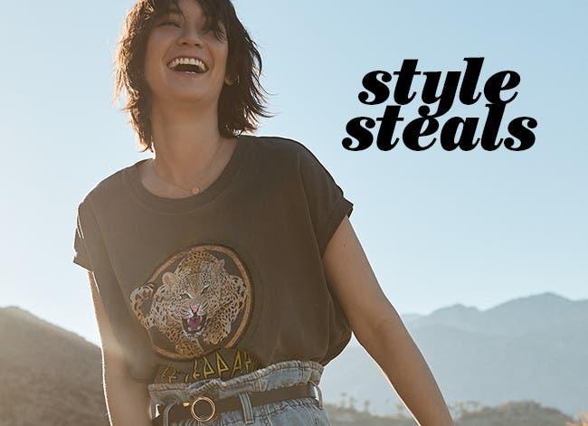 Women's style steals.