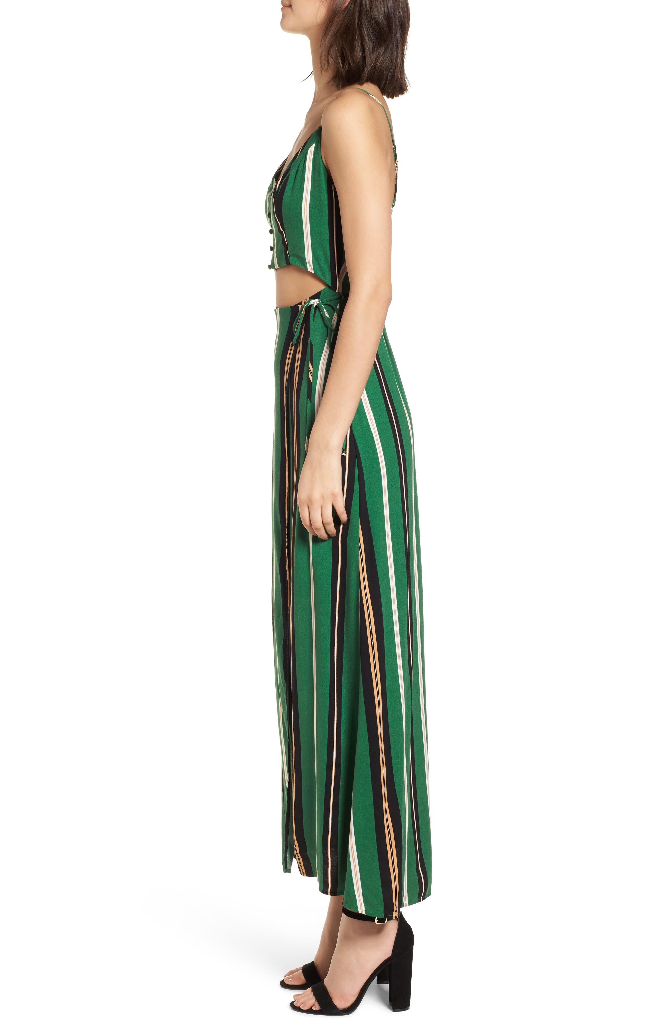 Cutout Wrap Front Maxi Dress,                             Alternate thumbnail 3, color,                             300