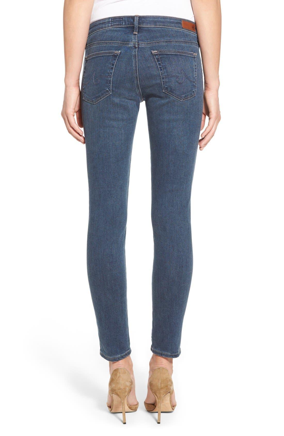The Legging Ankle Super Skinny Jeans,                             Alternate thumbnail 5, color,                             401