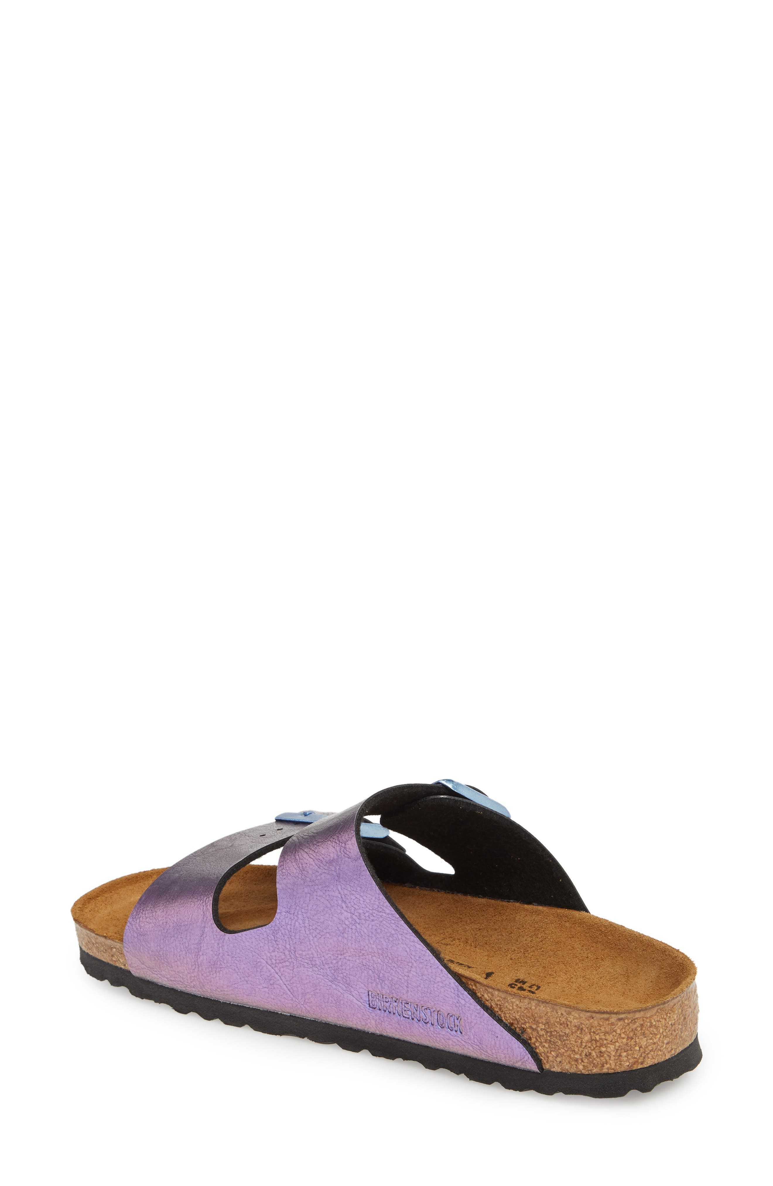 Arizona Graceful Birko-Flor<sup>™</sup> Sandal,                             Alternate thumbnail 2, color,                             VIOLET
