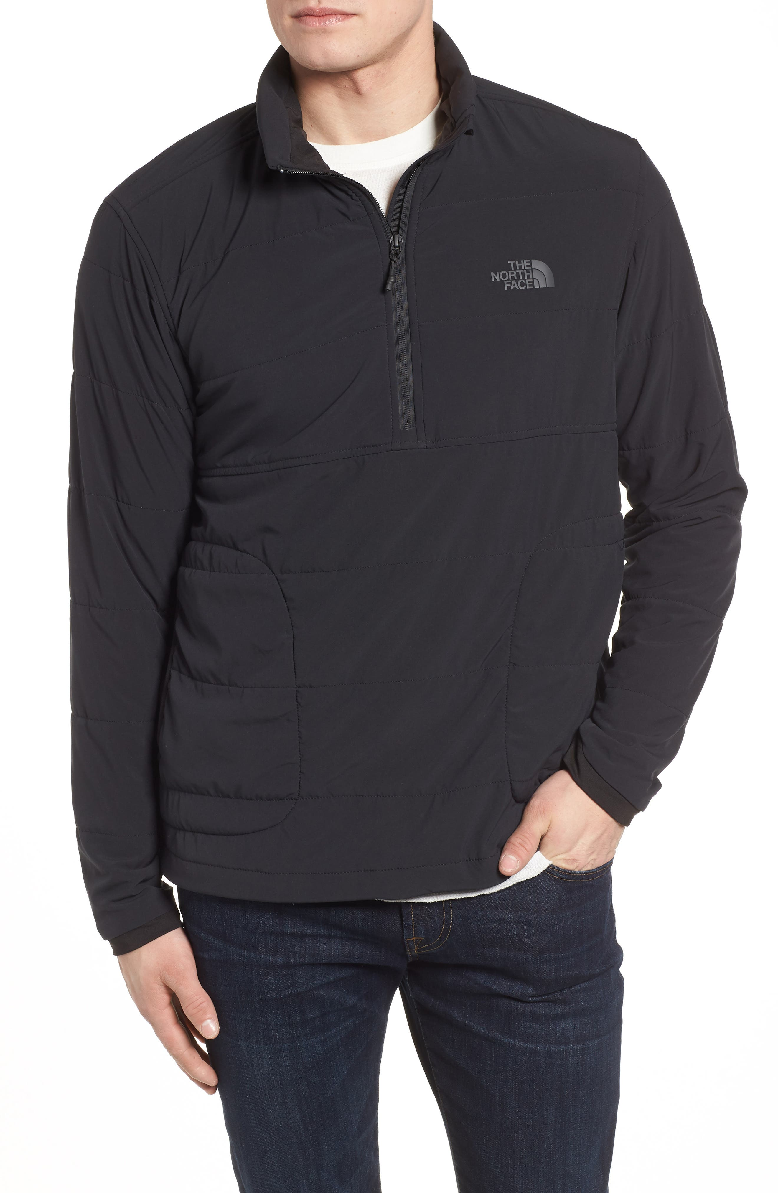 THE NORTH FACE,                             Mountain Quarter Zip Pullover,                             Main thumbnail 1, color,                             001