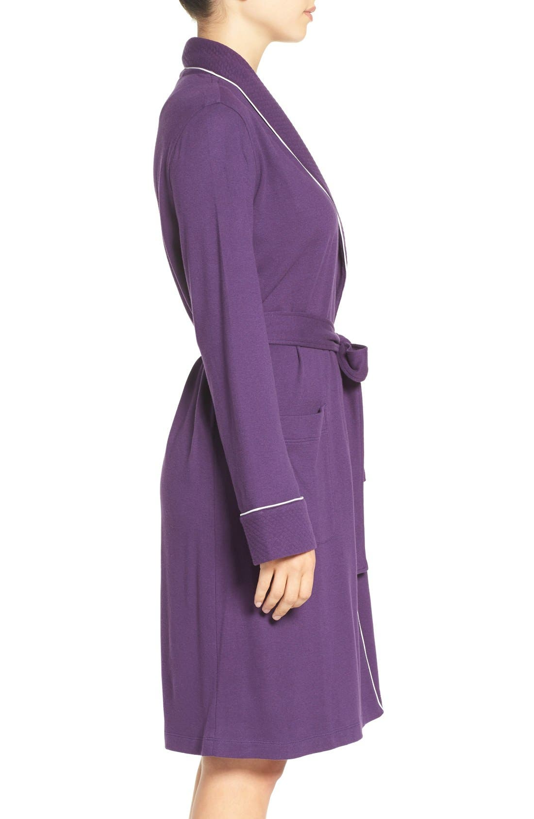 Quilted Collar Robe,                             Alternate thumbnail 50, color,