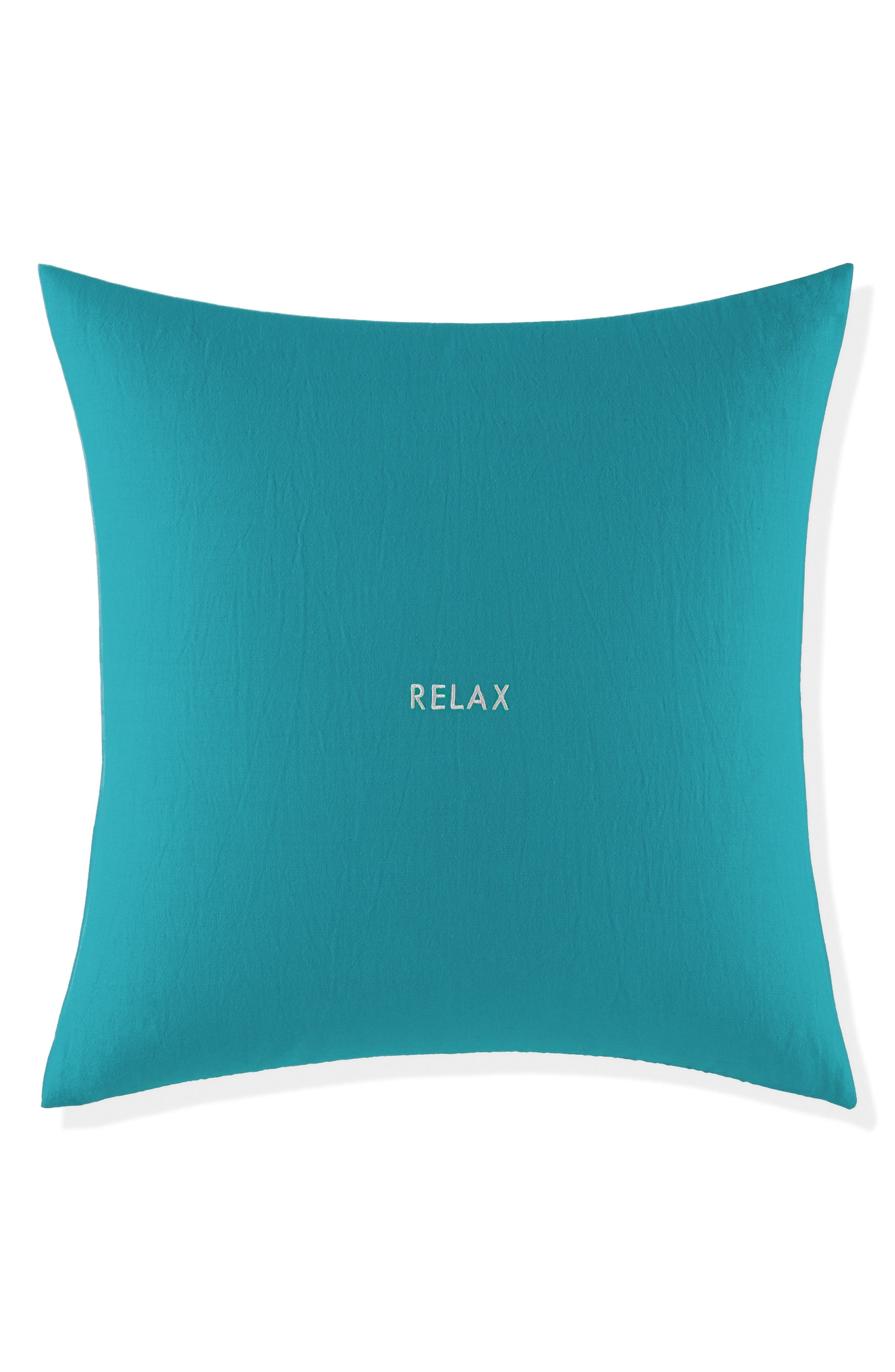 relax pillow,                             Main thumbnail 1, color,                             TURQUOISE