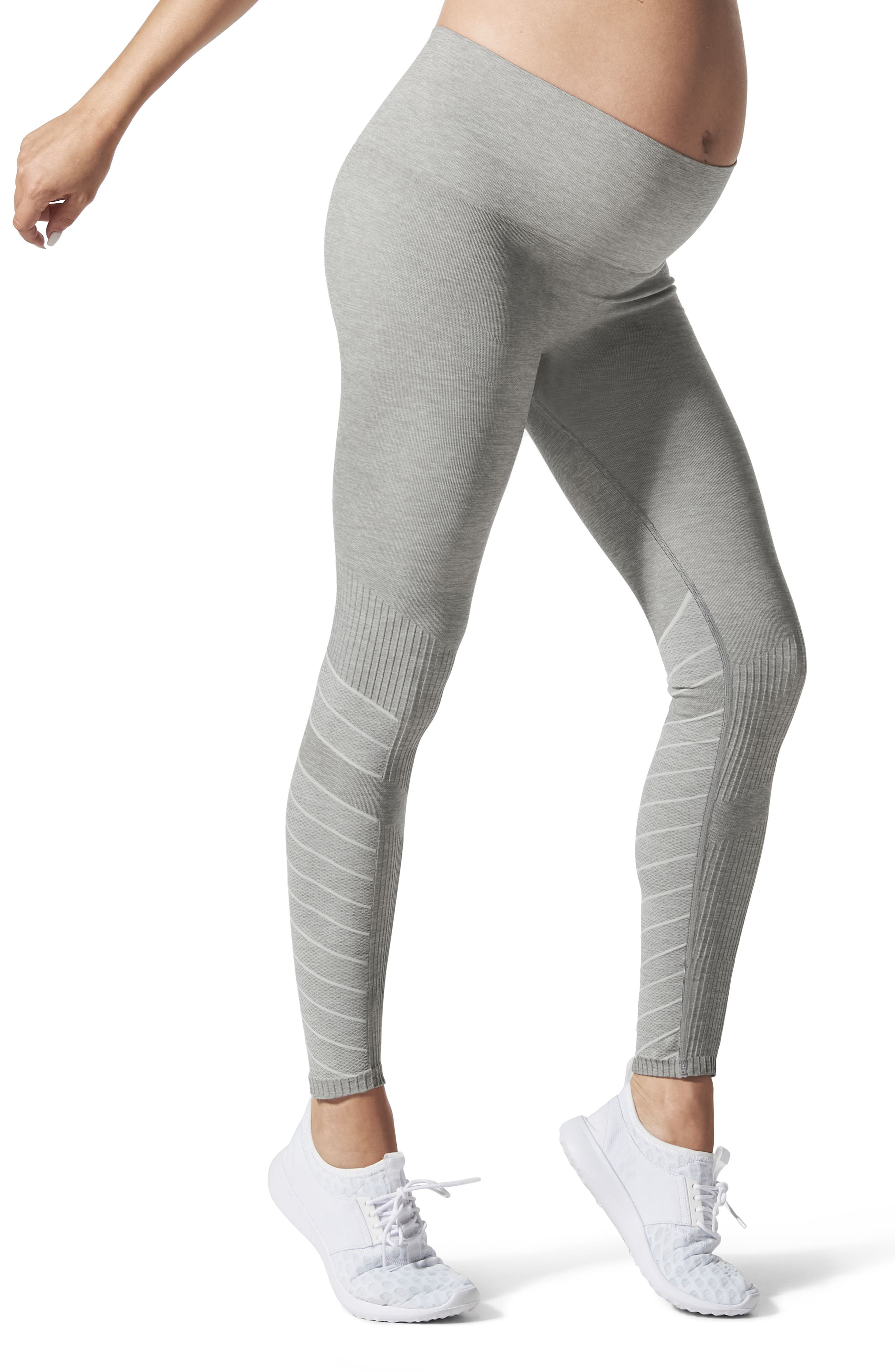 Blanqi Sportsupport Hipster Contour Support Maternity/postpartum Leggings, Grey
