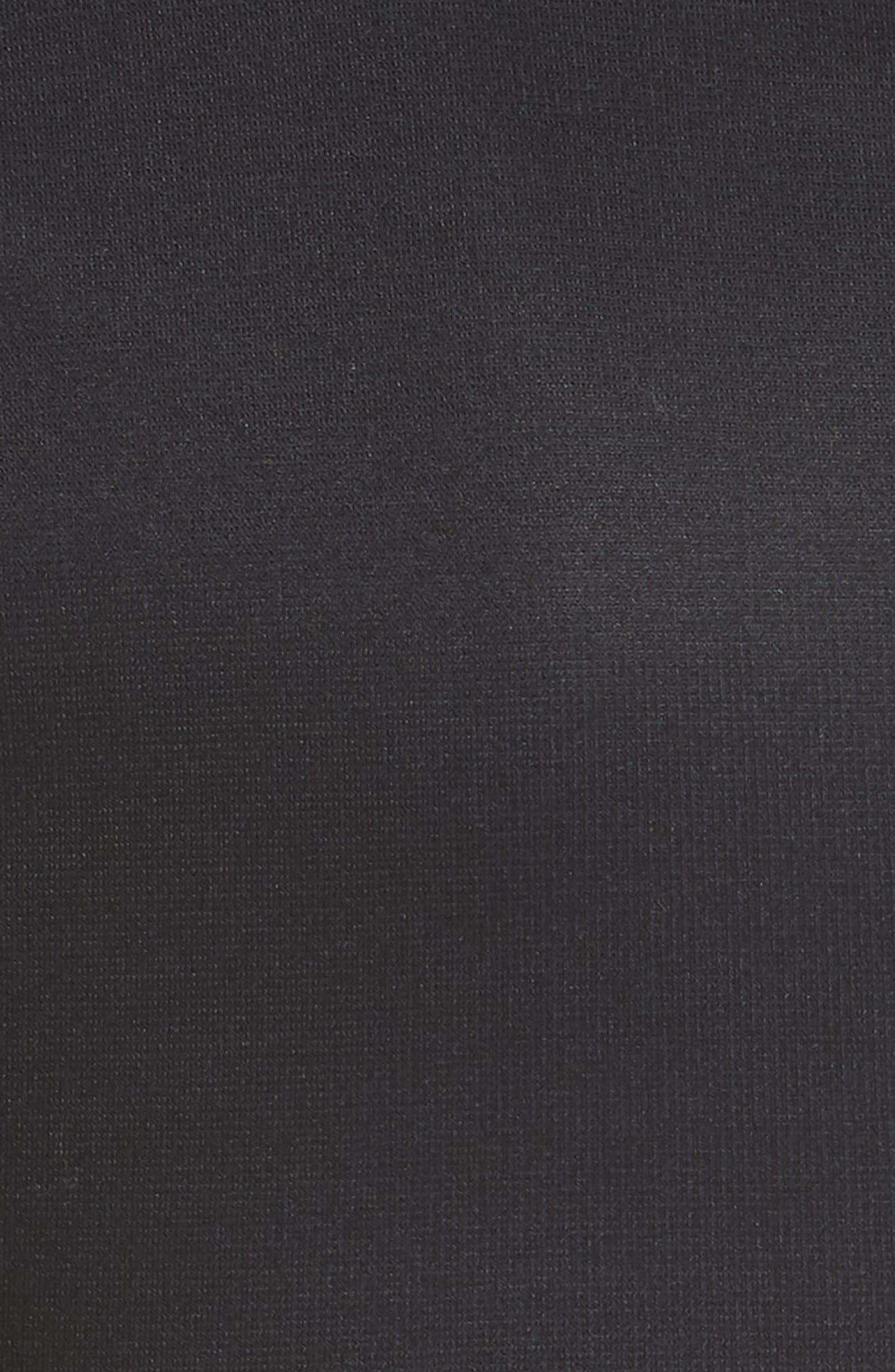TED BAKER LONDON,                             Dollila Pirouette Body-Con Midi Dress,                             Alternate thumbnail 6, color,                             001