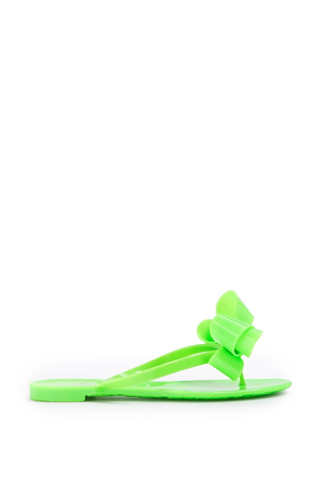 Couture Bow Thong Sandal,                             Alternate thumbnail 15, color,