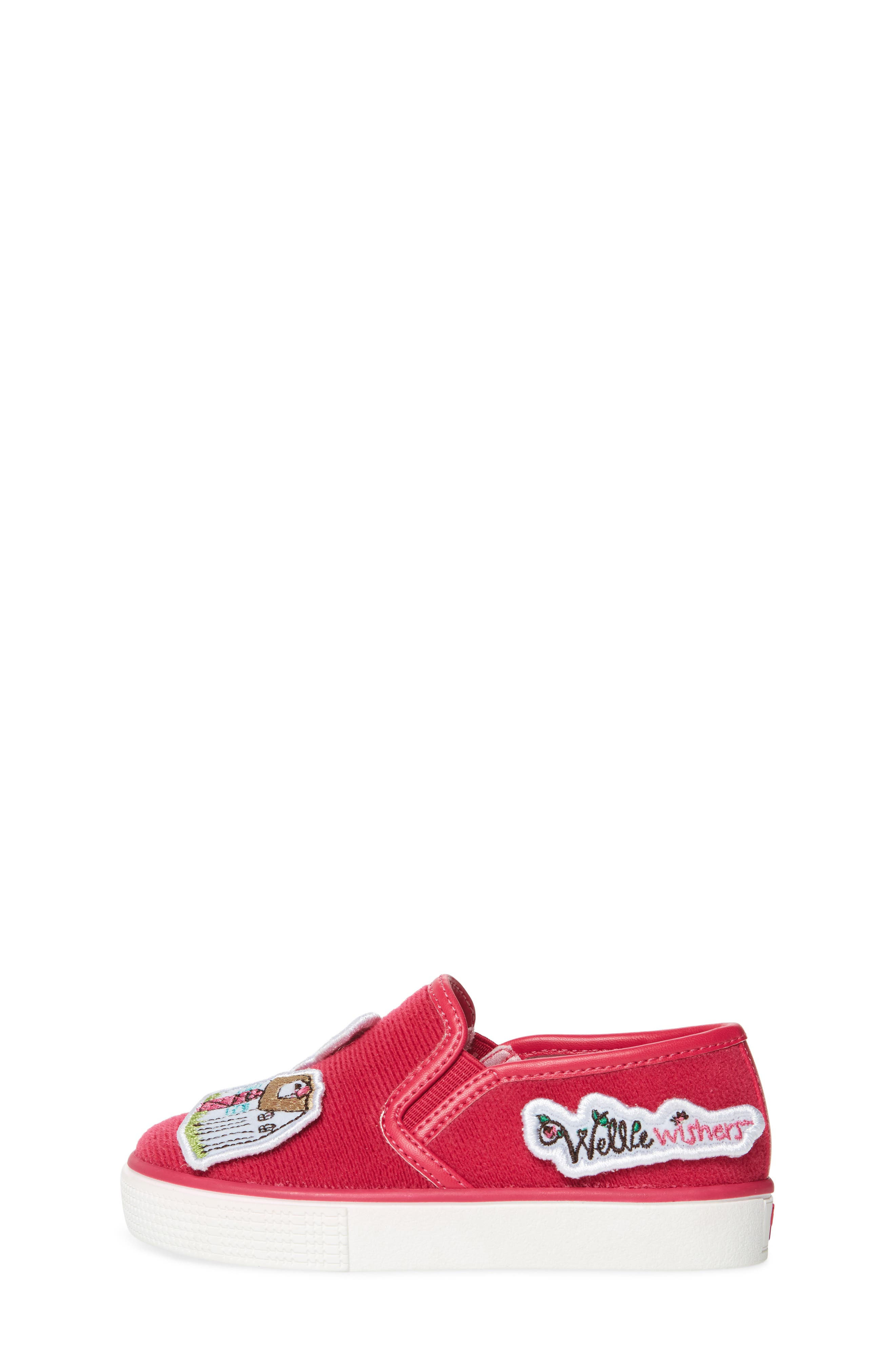 Patch Slip-On Sneaker,                             Alternate thumbnail 3, color,                             650