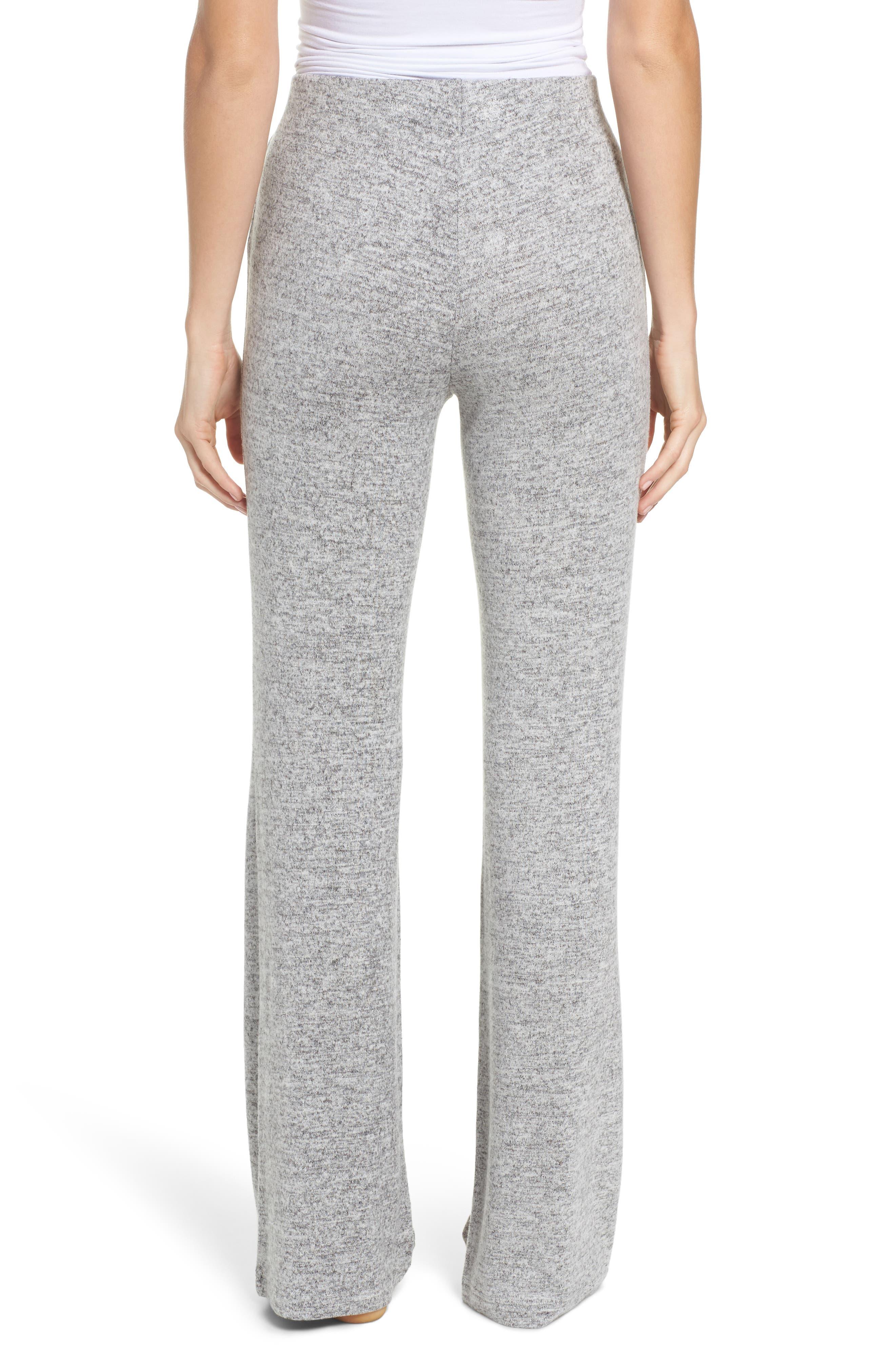 Wendall Wide Leg Lounge Pants,                             Alternate thumbnail 2, color,                             H GREY