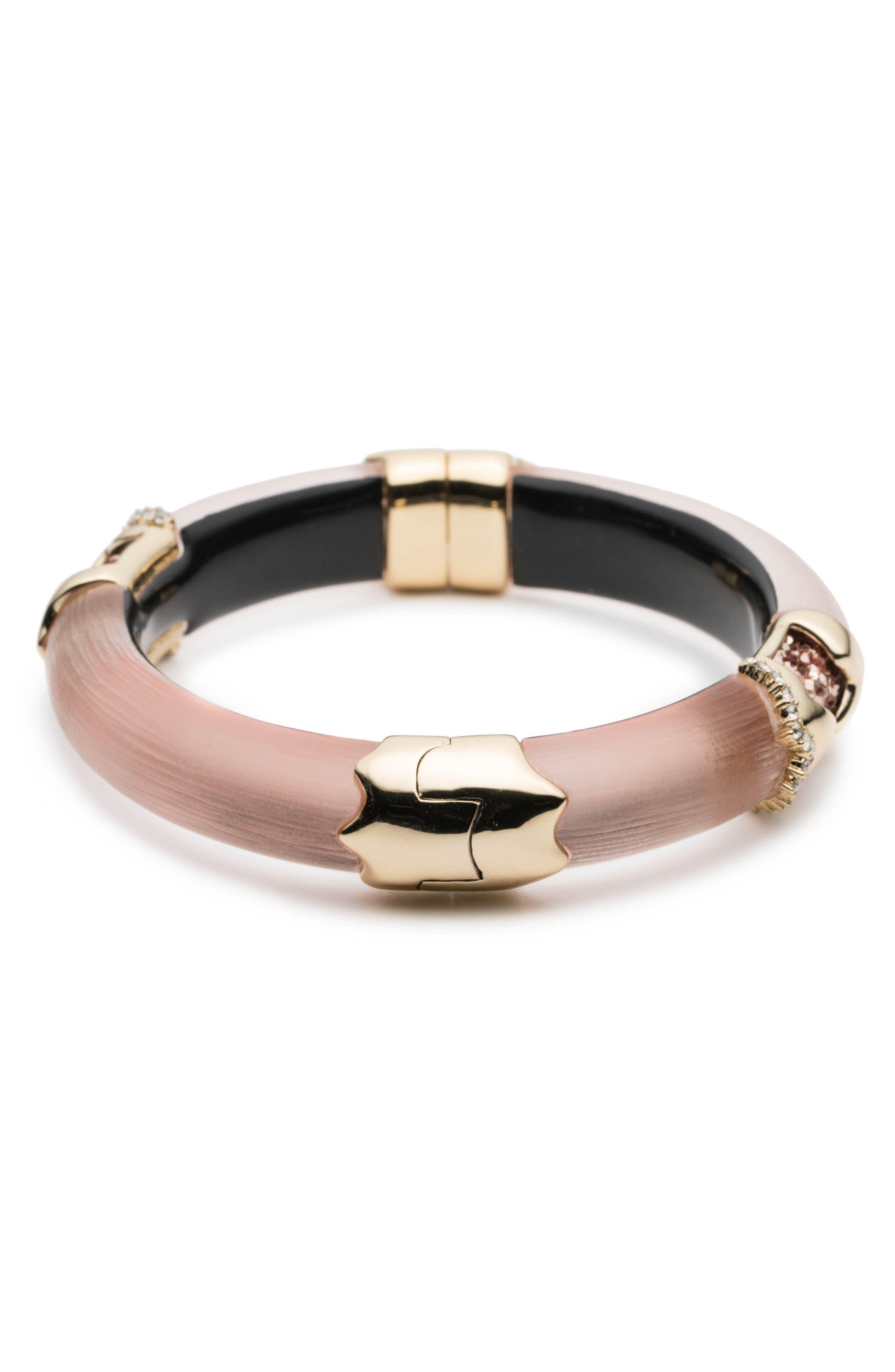Lucite<sup>®</sup> Side Hinge Bracelet,                             Alternate thumbnail 4, color,