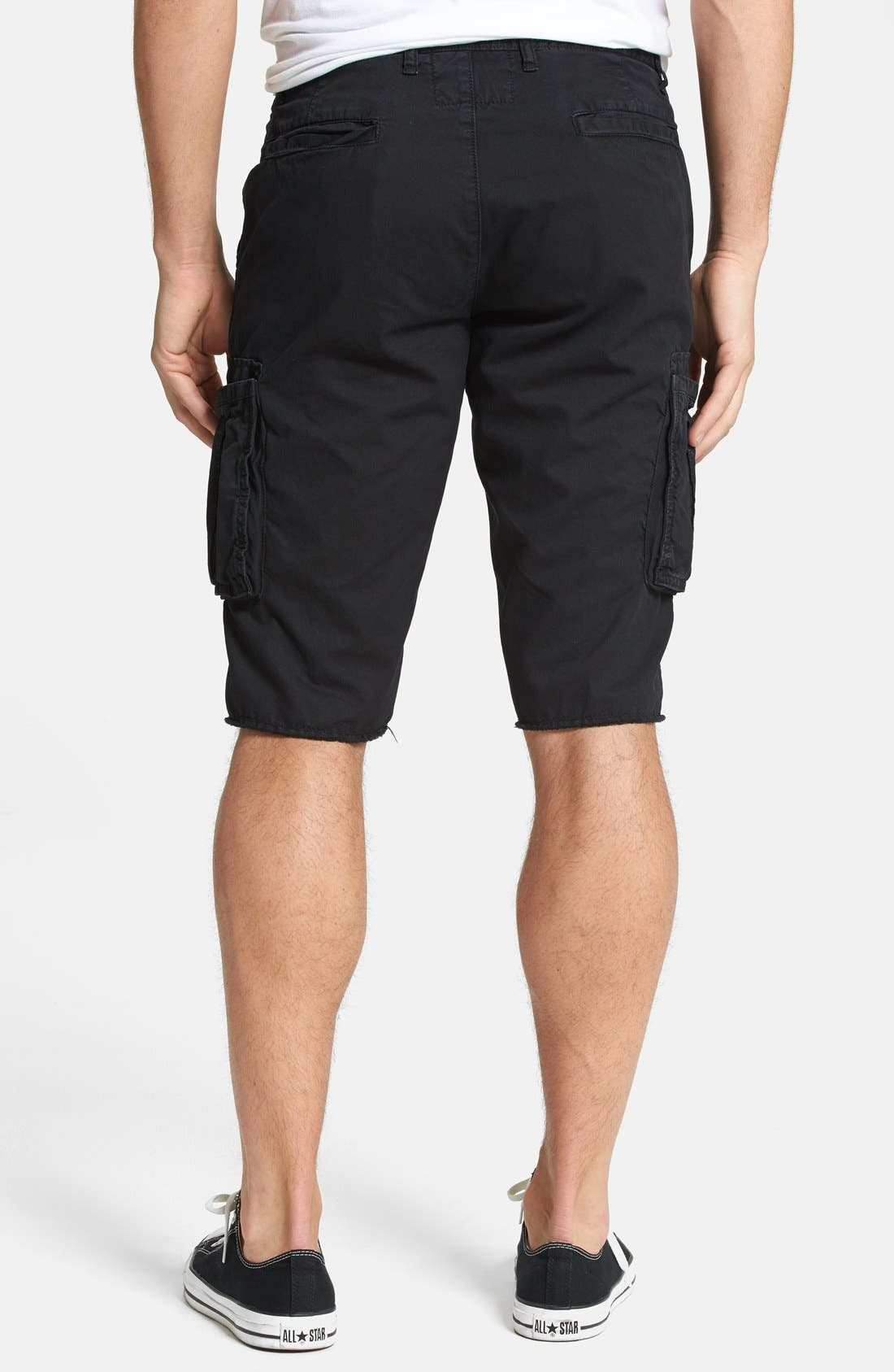 'Houston' Slim Fit Cargo Shorts,                             Alternate thumbnail 3, color,                             001