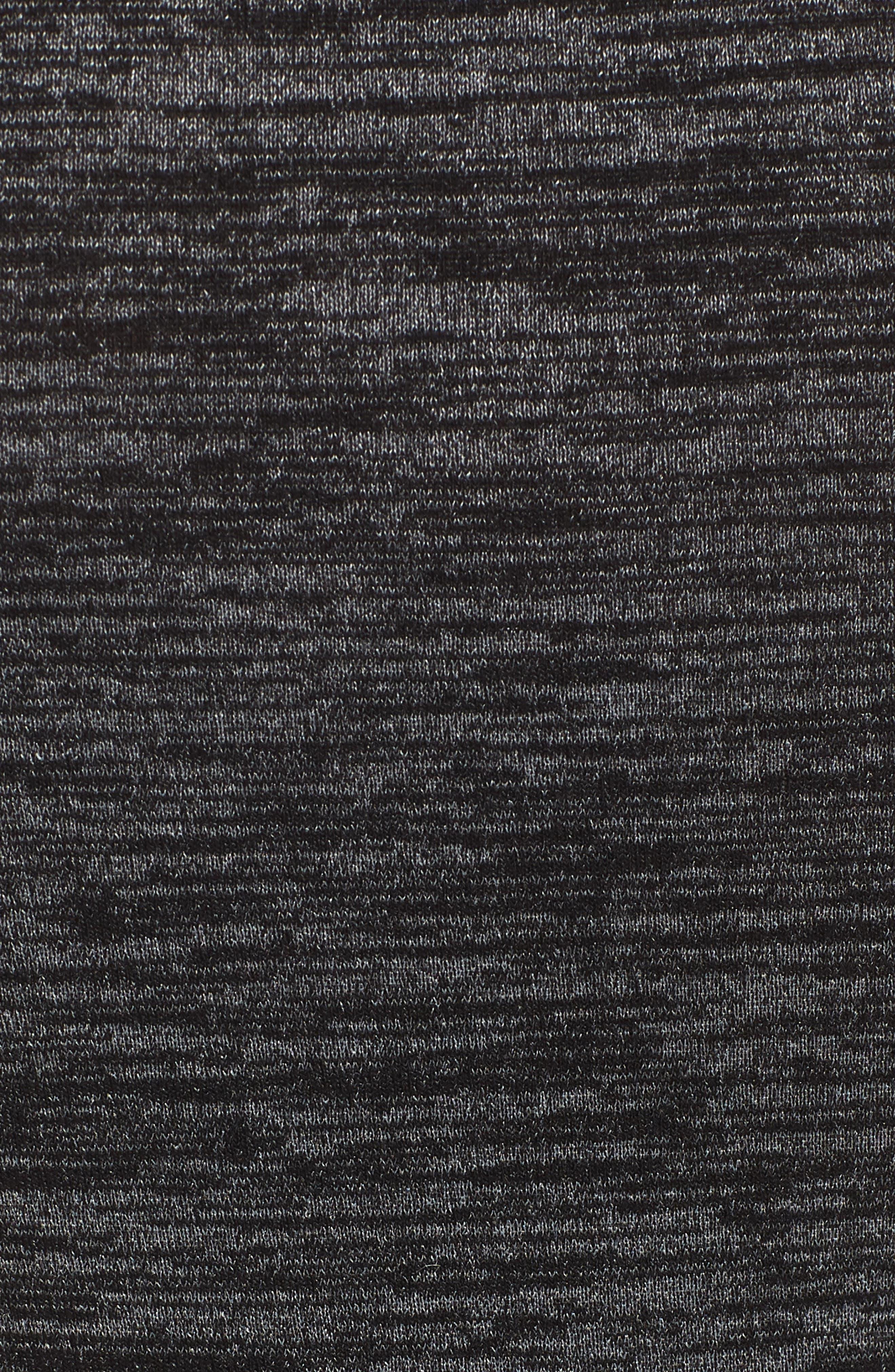 Mélange Body-Con Dress,                             Alternate thumbnail 5, color,                             021