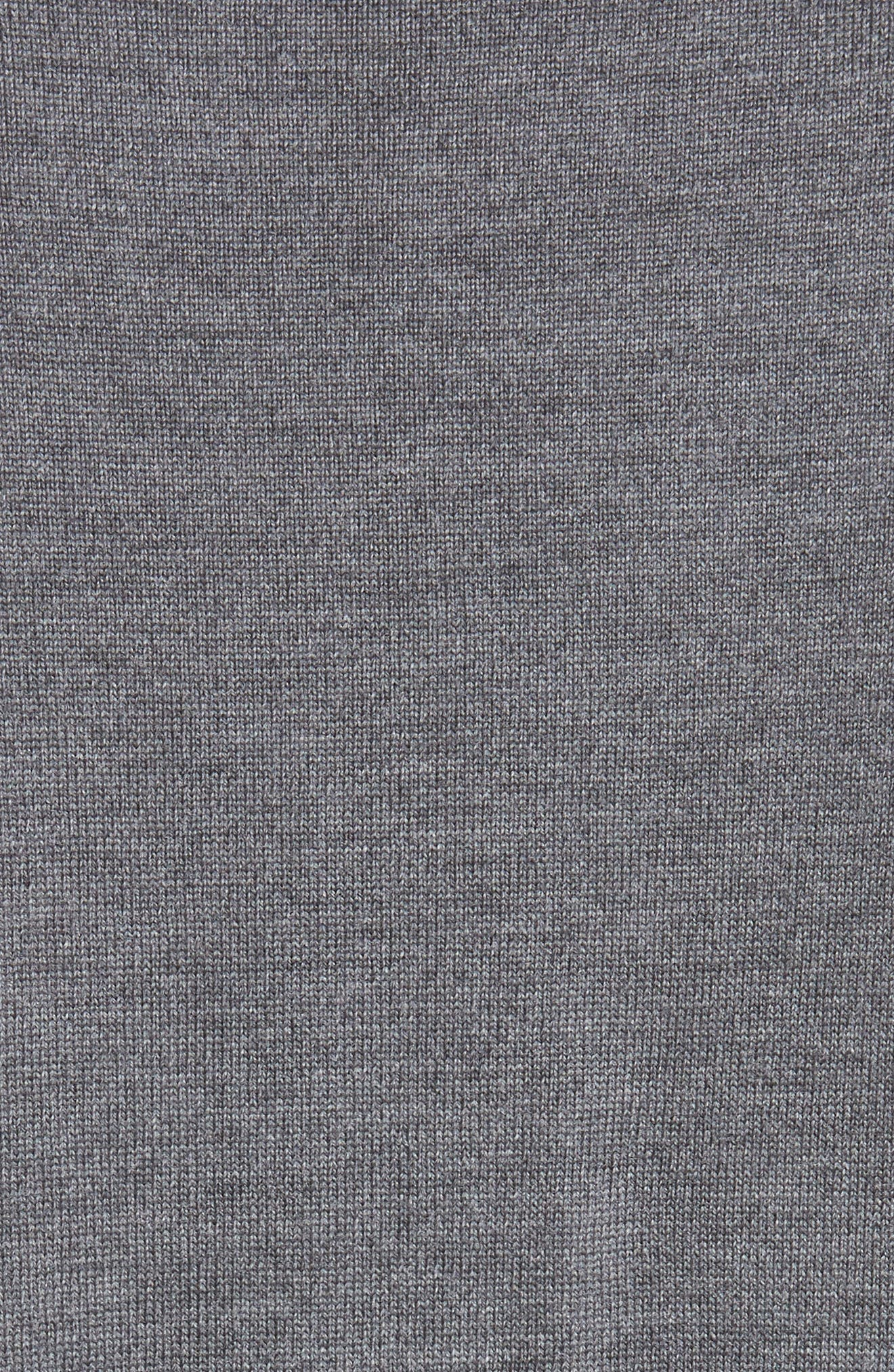 Maglione Tipped Wool Sweater,                             Alternate thumbnail 5, color,                             GREY