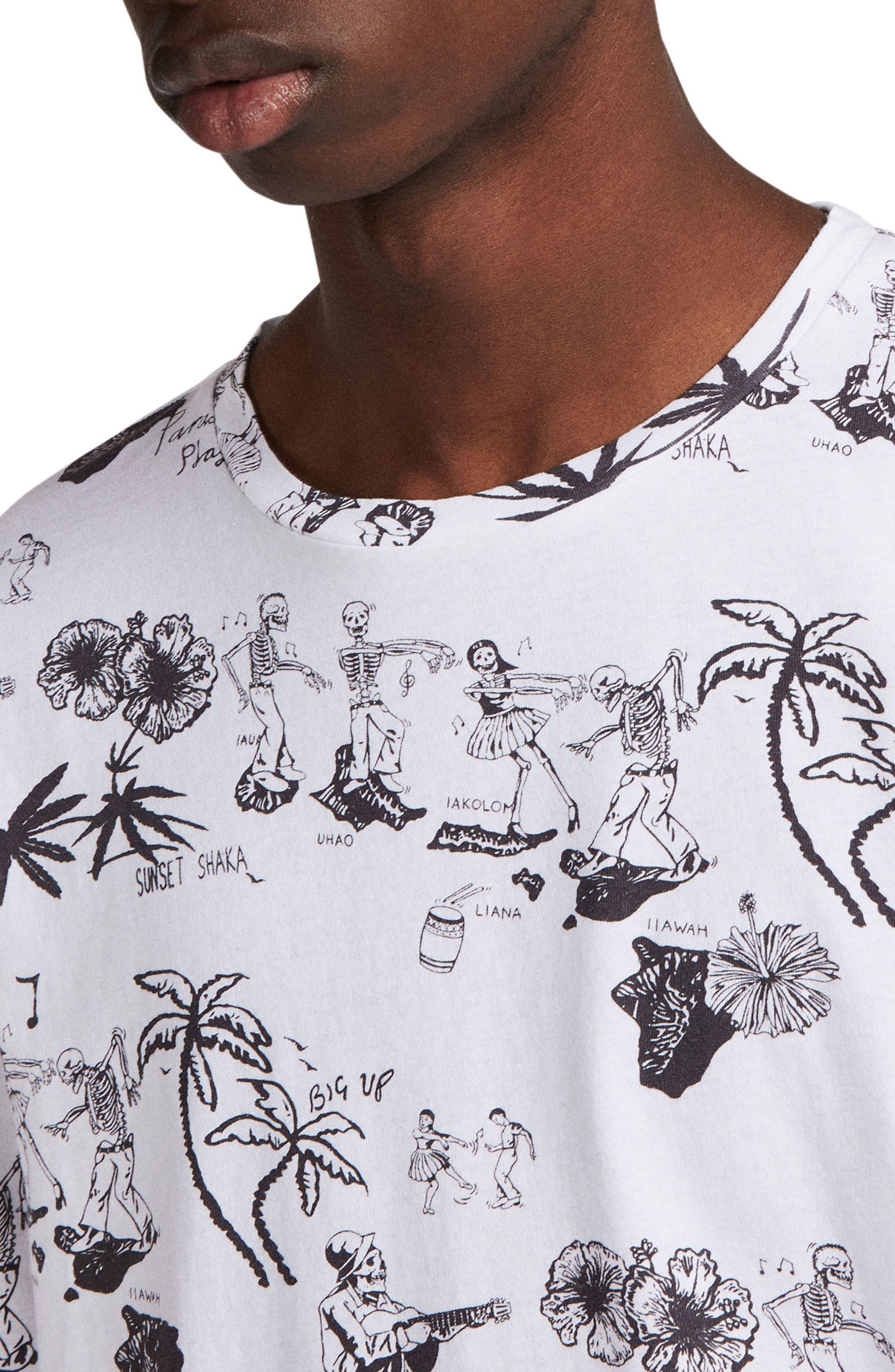 Big Up Graphic T-Shirt,                             Alternate thumbnail 4, color,                             117